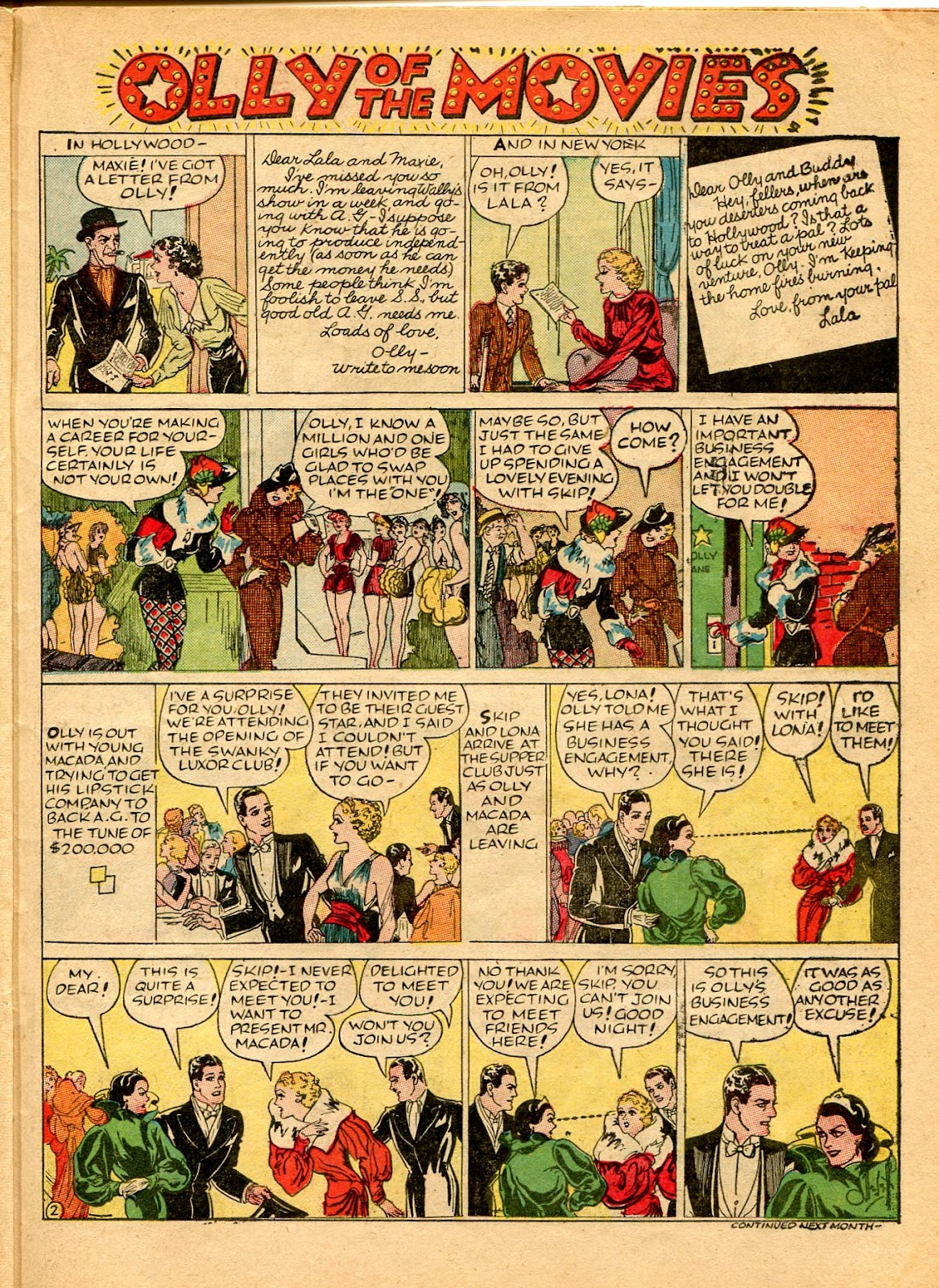Read online Famous Funnies comic -  Issue #49 - 45