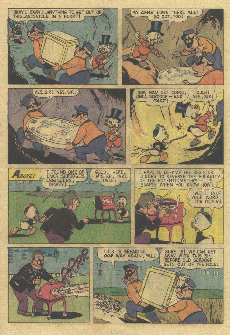 Read online Uncle Scrooge (1953) comic -  Issue #120 - 17