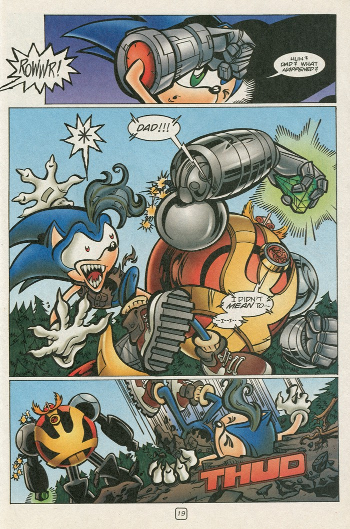Read online Sonic Super Special comic -  Issue #12 - Sonic and Knuckles visa versa - 36