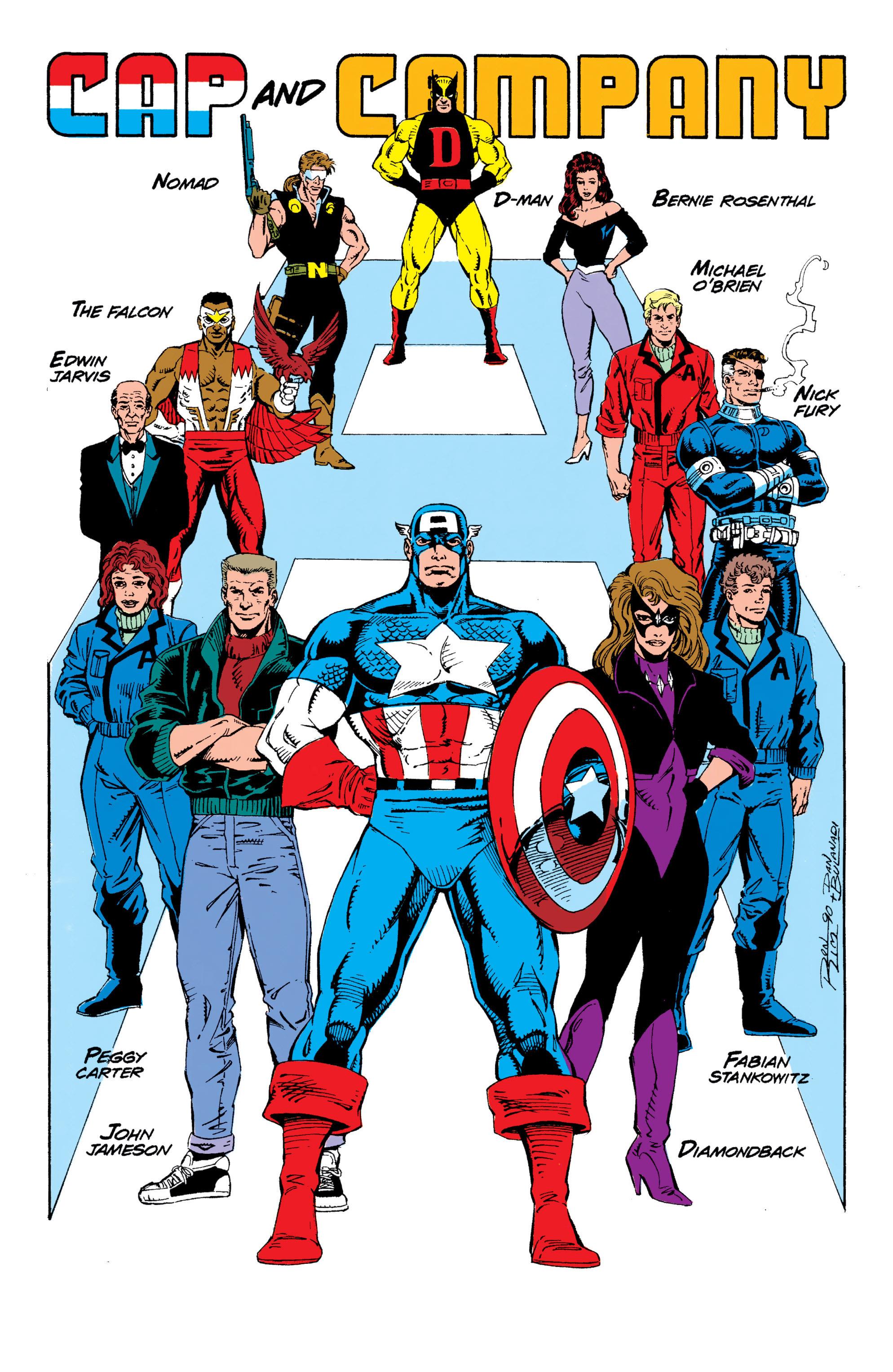 Read online Captain America (1968) comic -  Issue # _Annual 10 - 5