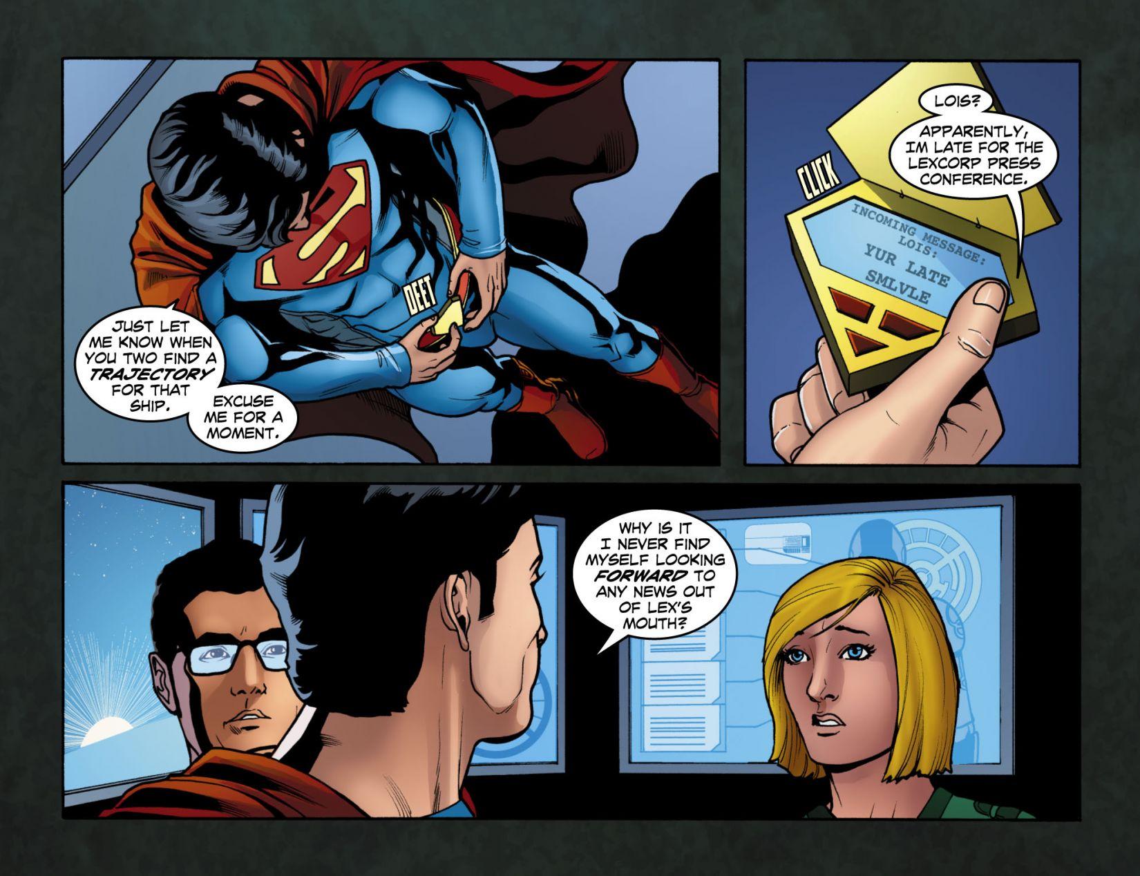 Read online Smallville: Season 11 comic -  Issue #4 - 14