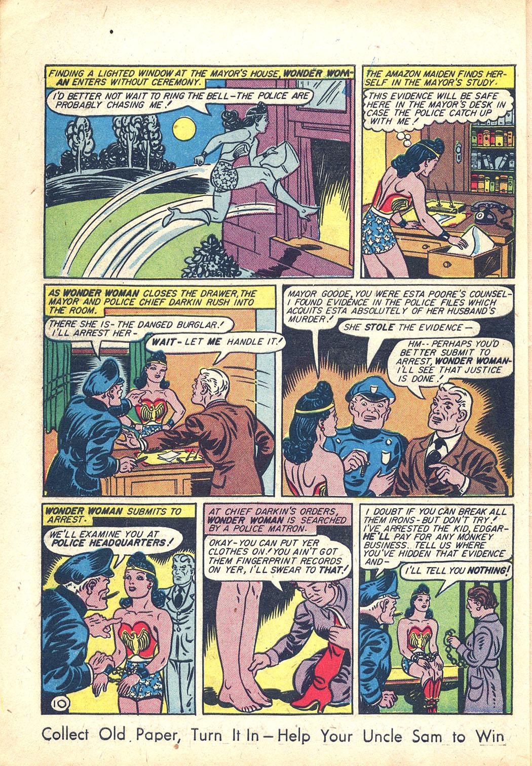 Read online Sensation (Mystery) Comics comic -  Issue #34 - 12