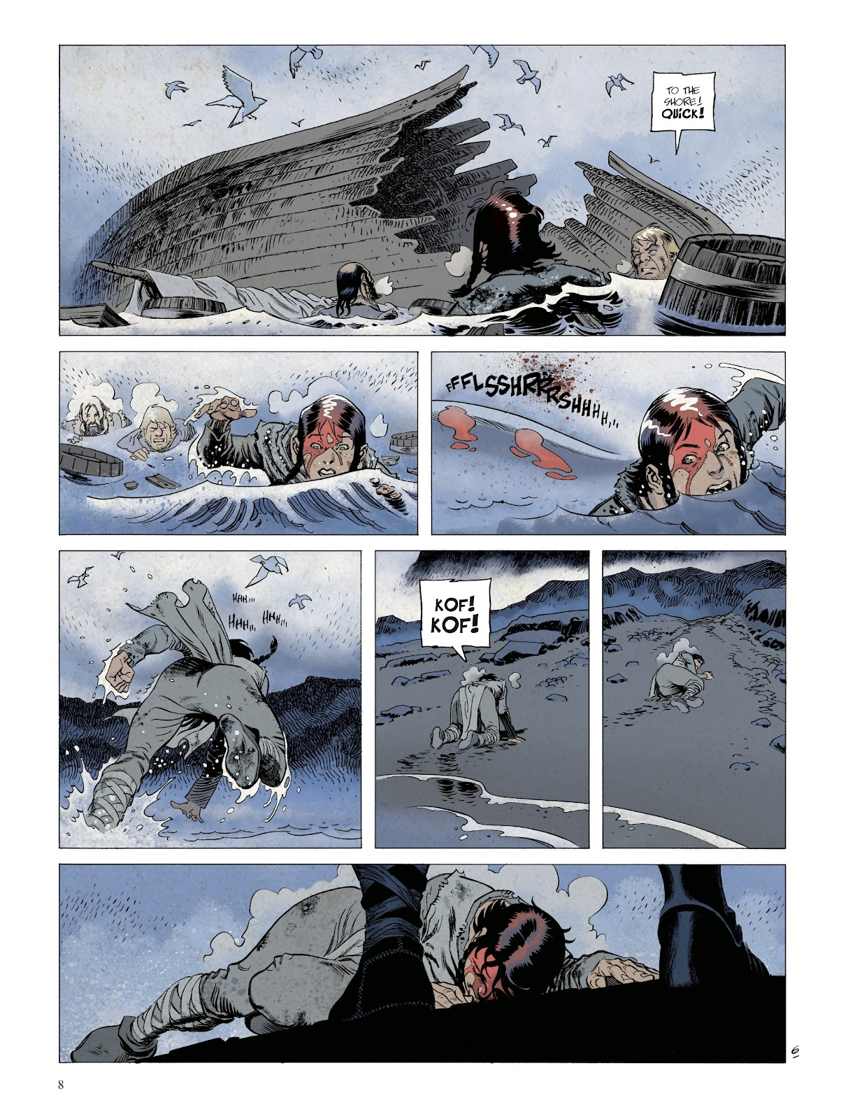 Read online Asgard comic -  Issue #1 - 10