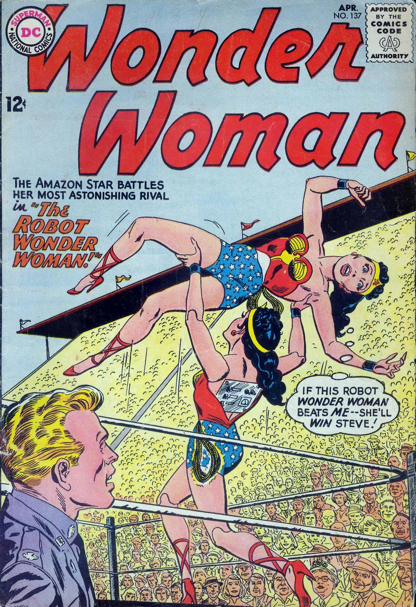 Read online Wonder Woman (1942) comic -  Issue #137 - 1