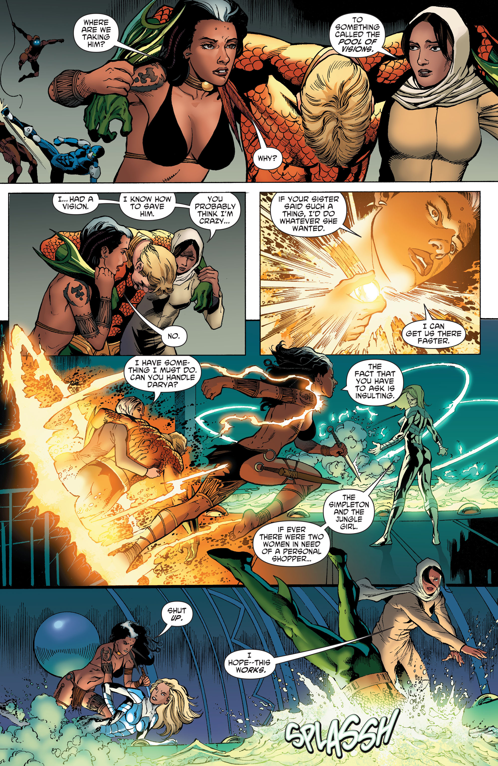 Read online Aquaman and the Others comic -  Issue #5 - 12
