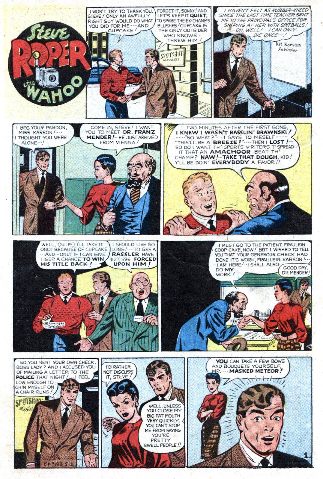Read online Famous Funnies comic -  Issue #193 - 3
