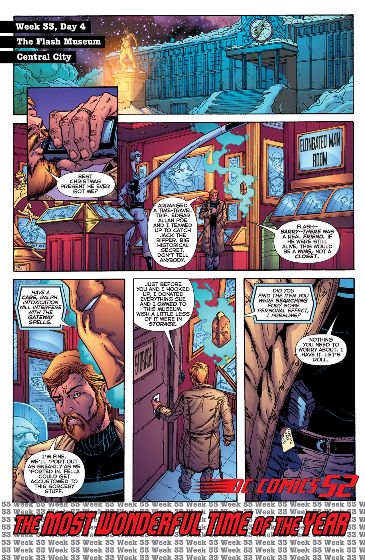 Read online 52 comic -  Issue #33 - 3