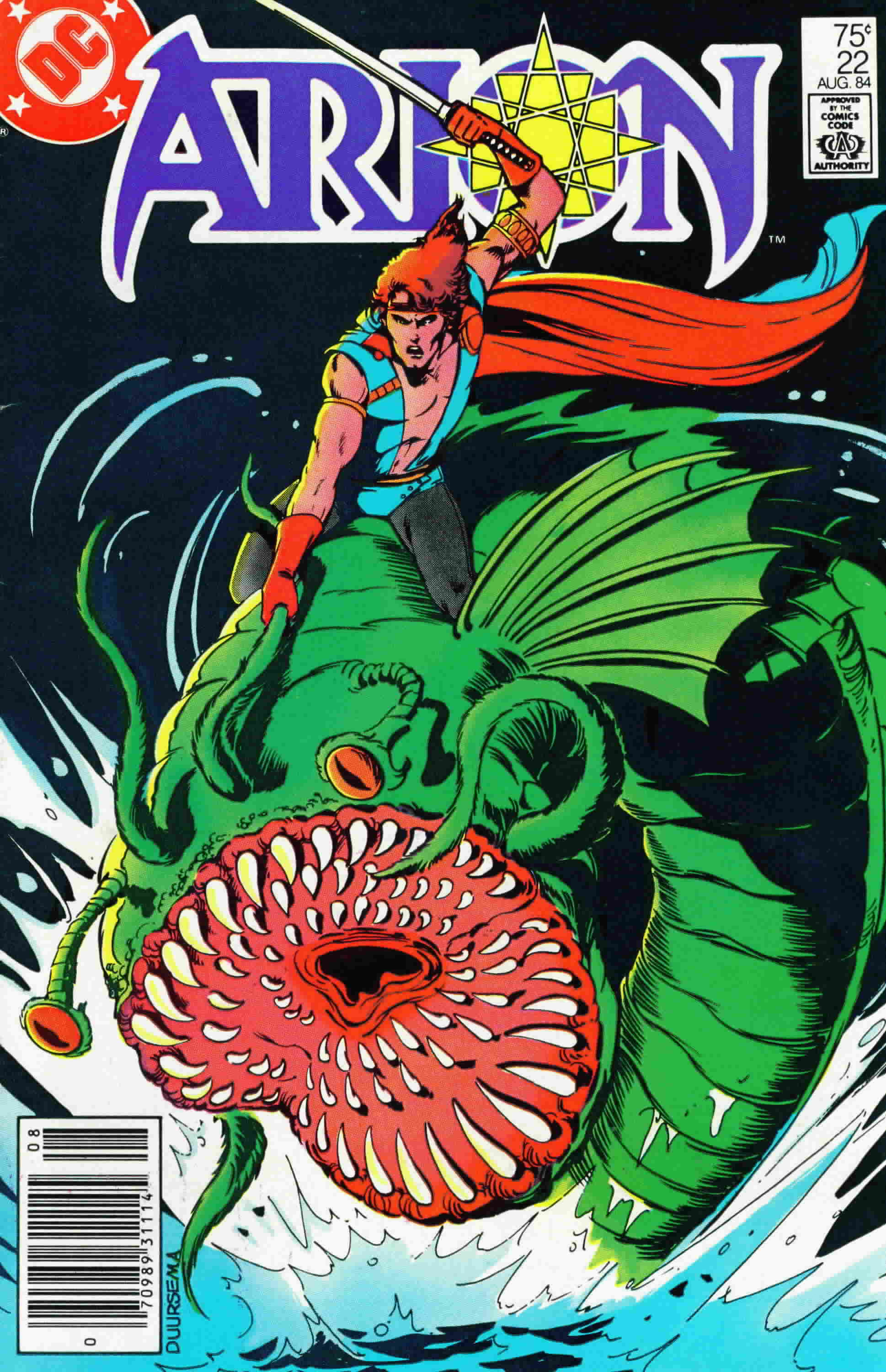 Read online Arion, Lord of Atlantis comic -  Issue #22 - 1