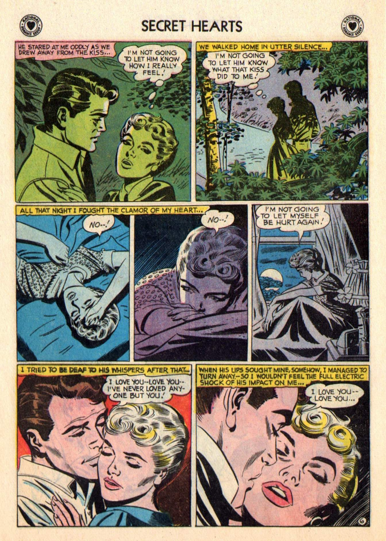 Read online Secret Hearts comic -  Issue #48 - 32