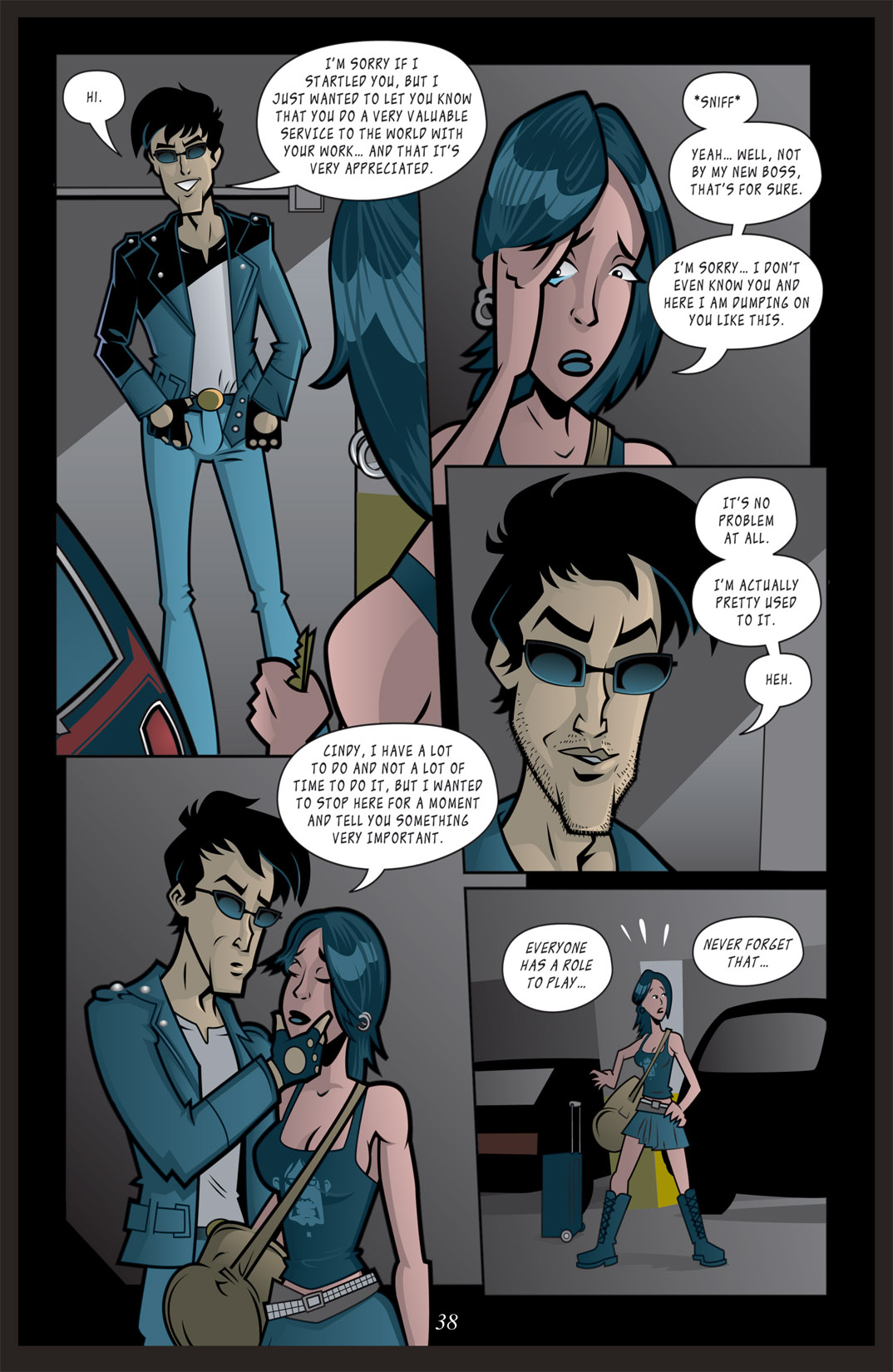 Read online Nightmare World comic -  Issue # Vol. 2 Leave the Light On - 39
