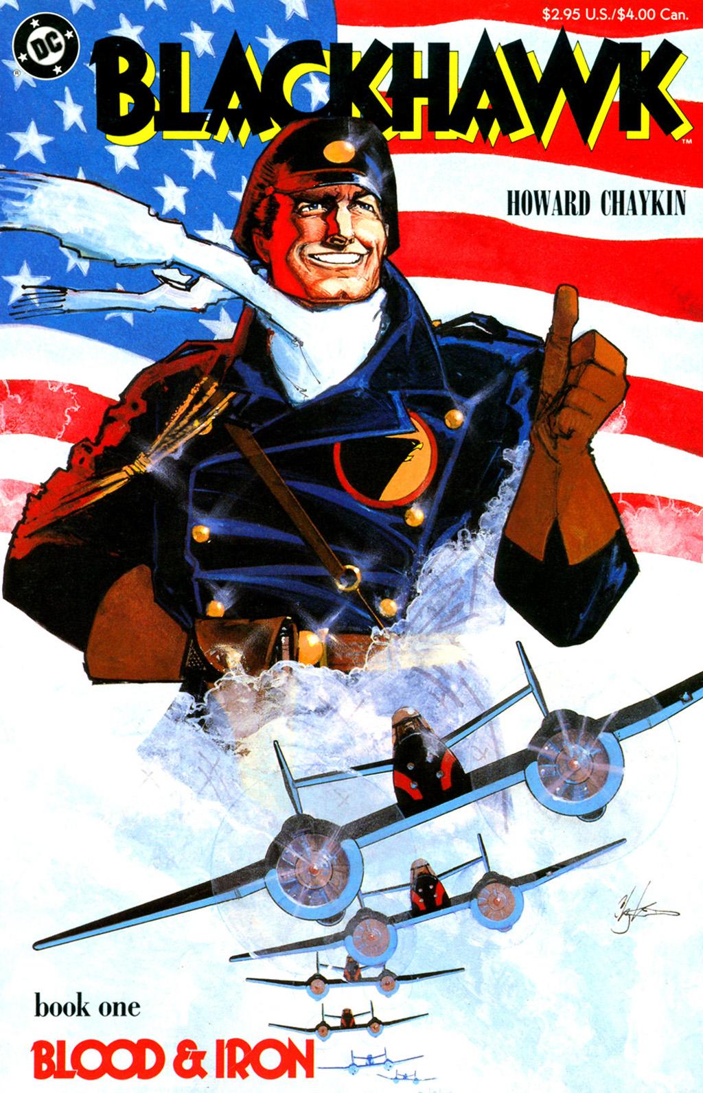 Blackhawk (1988) issue 1 - Page 1