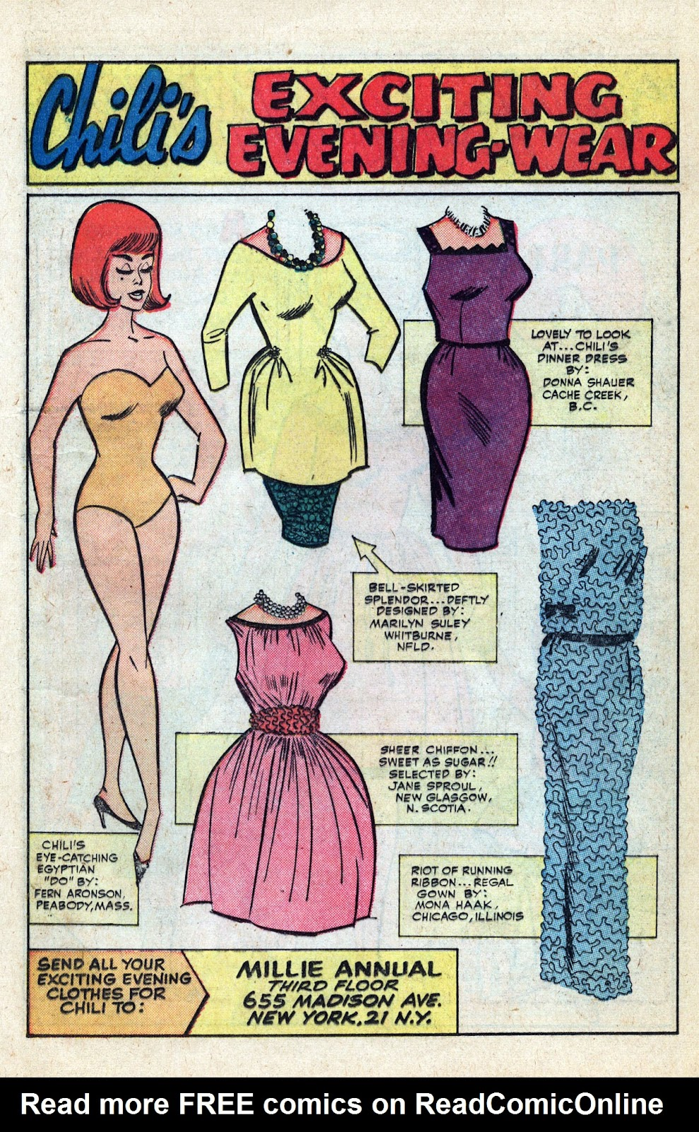Read online Millie the Model comic -  Issue # Annual 3 - 55