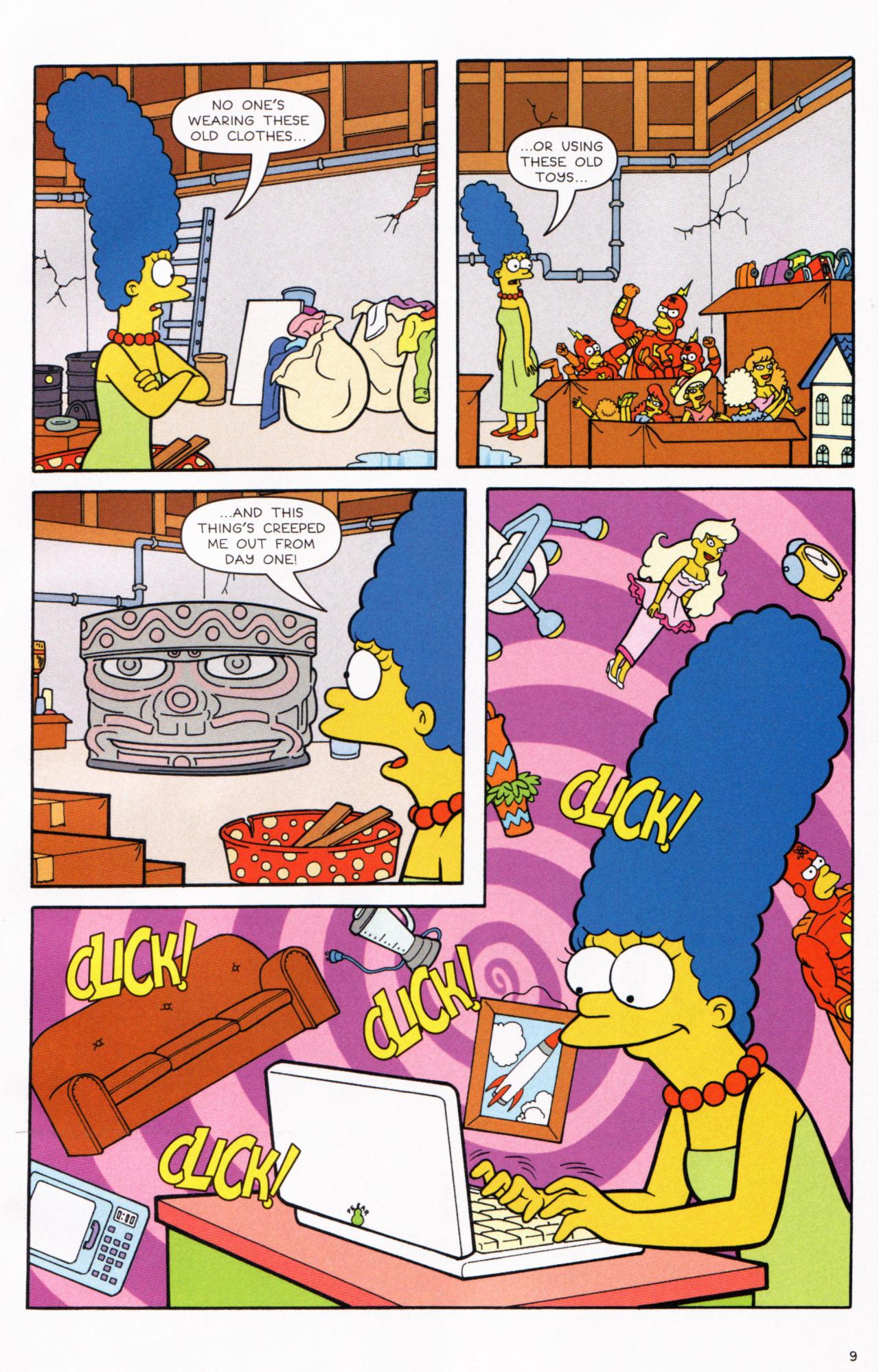 Read online Simpsons Comics comic -  Issue #130 - 9