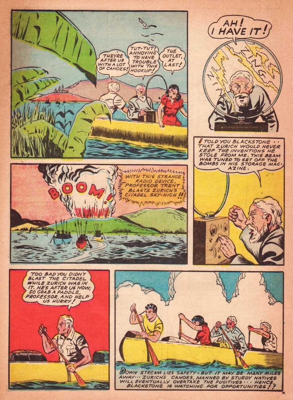 Read online Super-Magician Comics comic -  Issue #2 - 34
