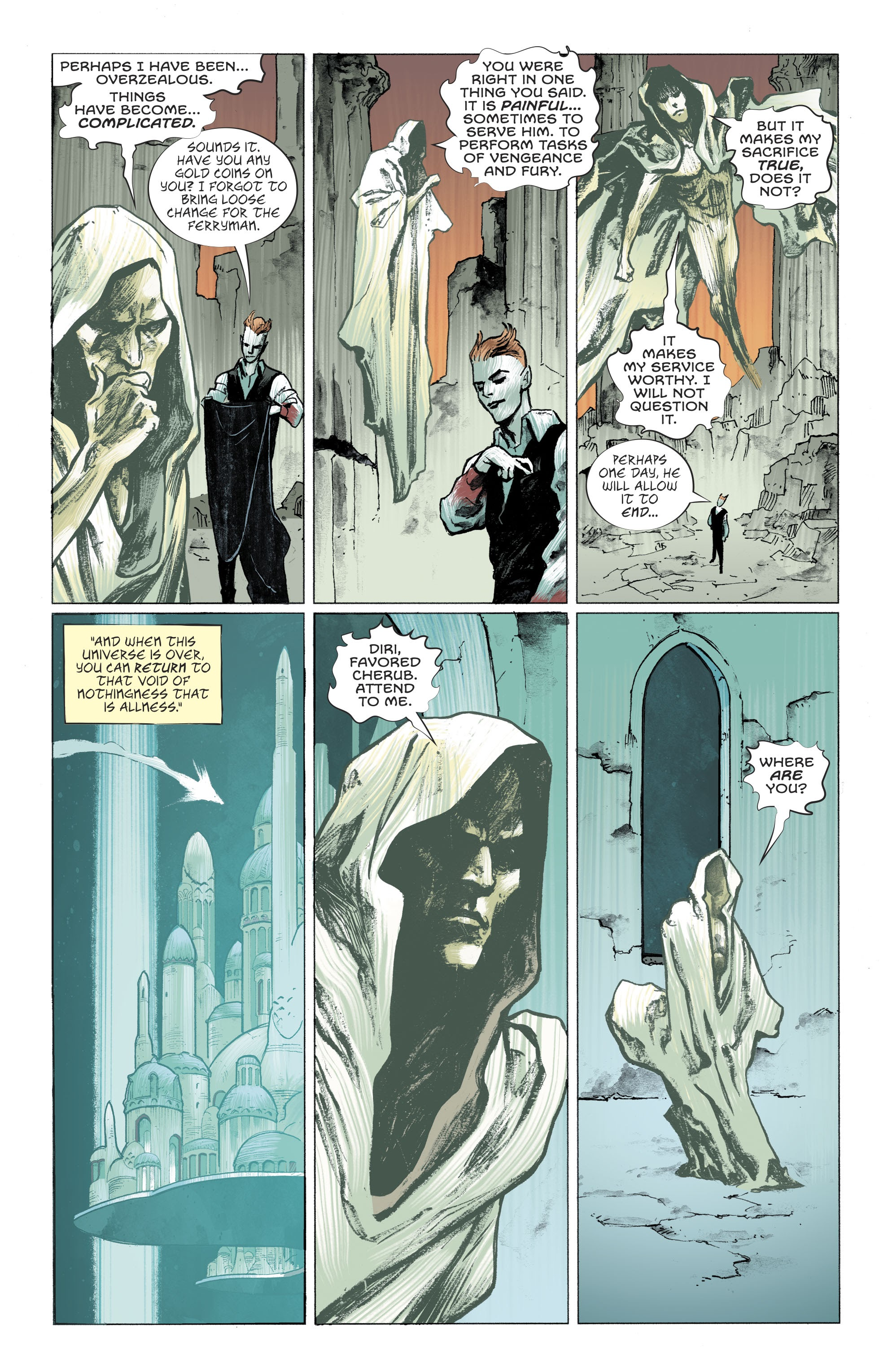 Read online Lucifer (2018) comic -  Issue #11 - 18