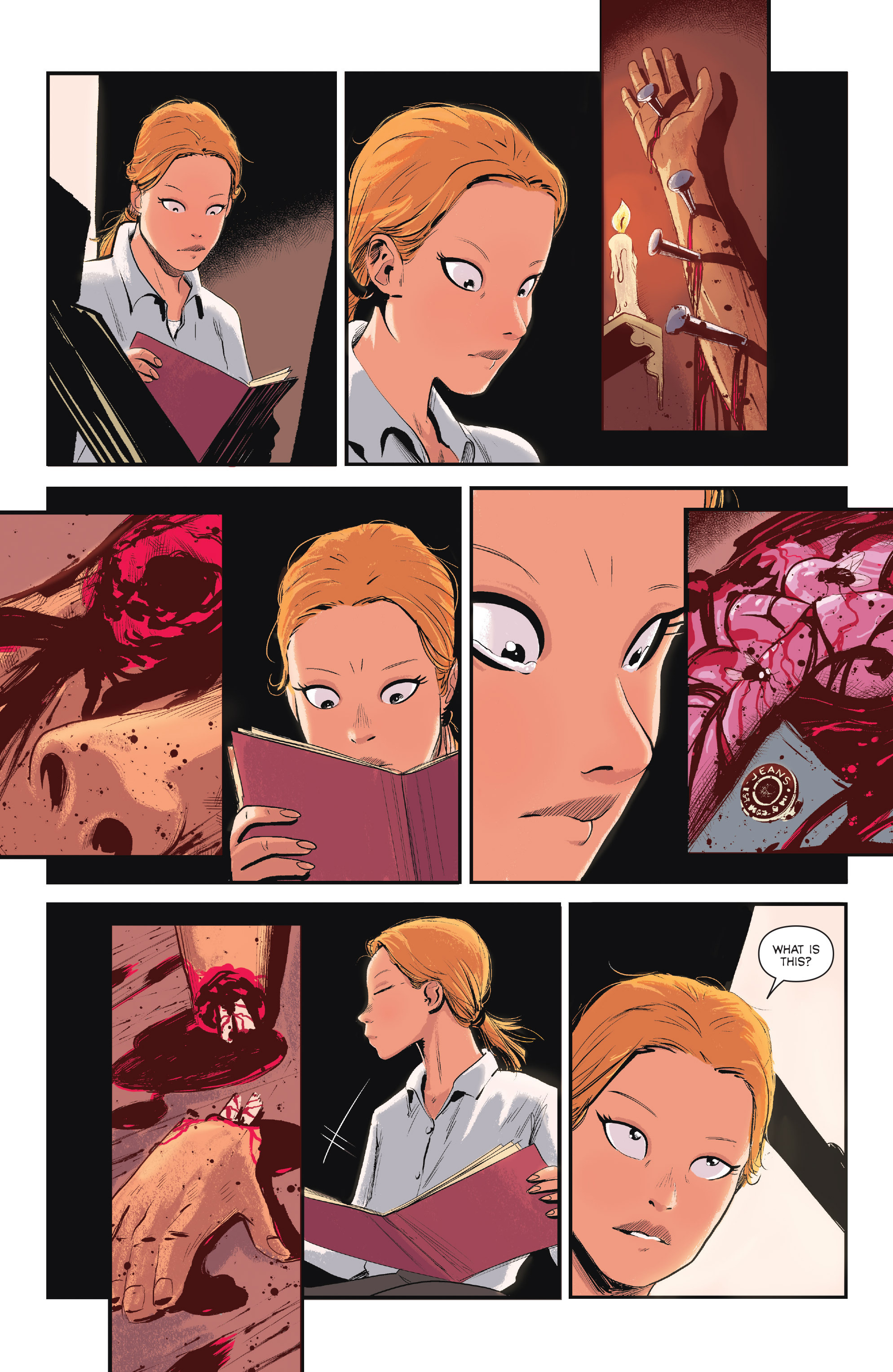 Read online Sombra comic -  Issue #1 - 9