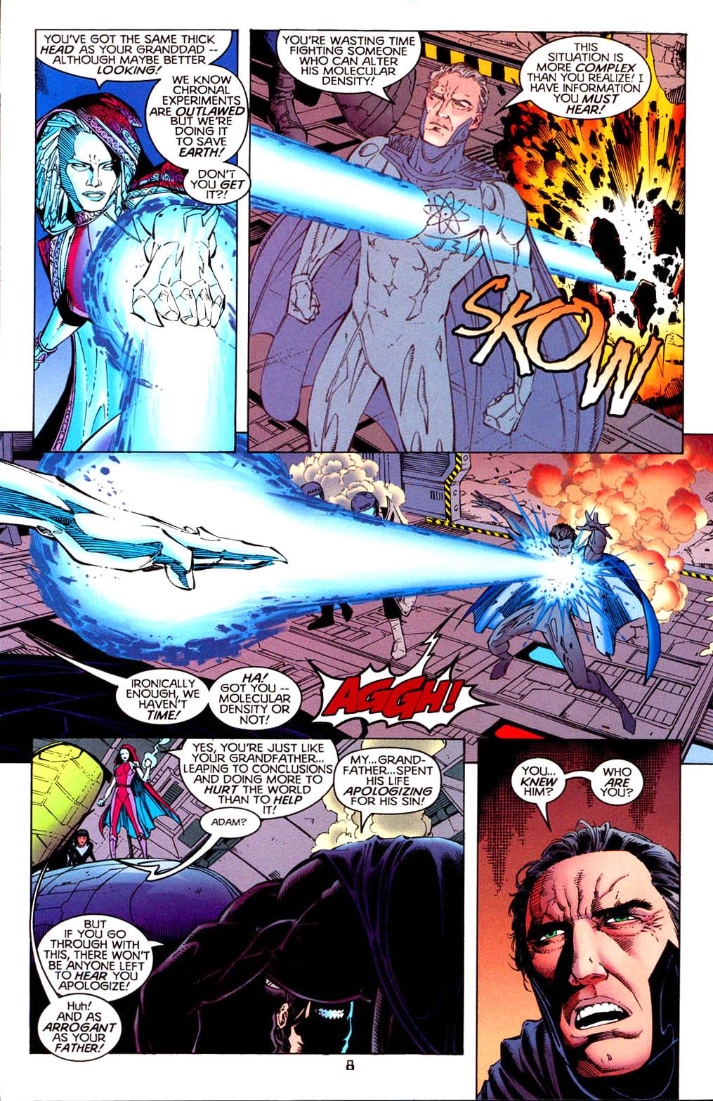 Read online Tangent Comics/ Doom Patrol comic -  Issue # Full - 9