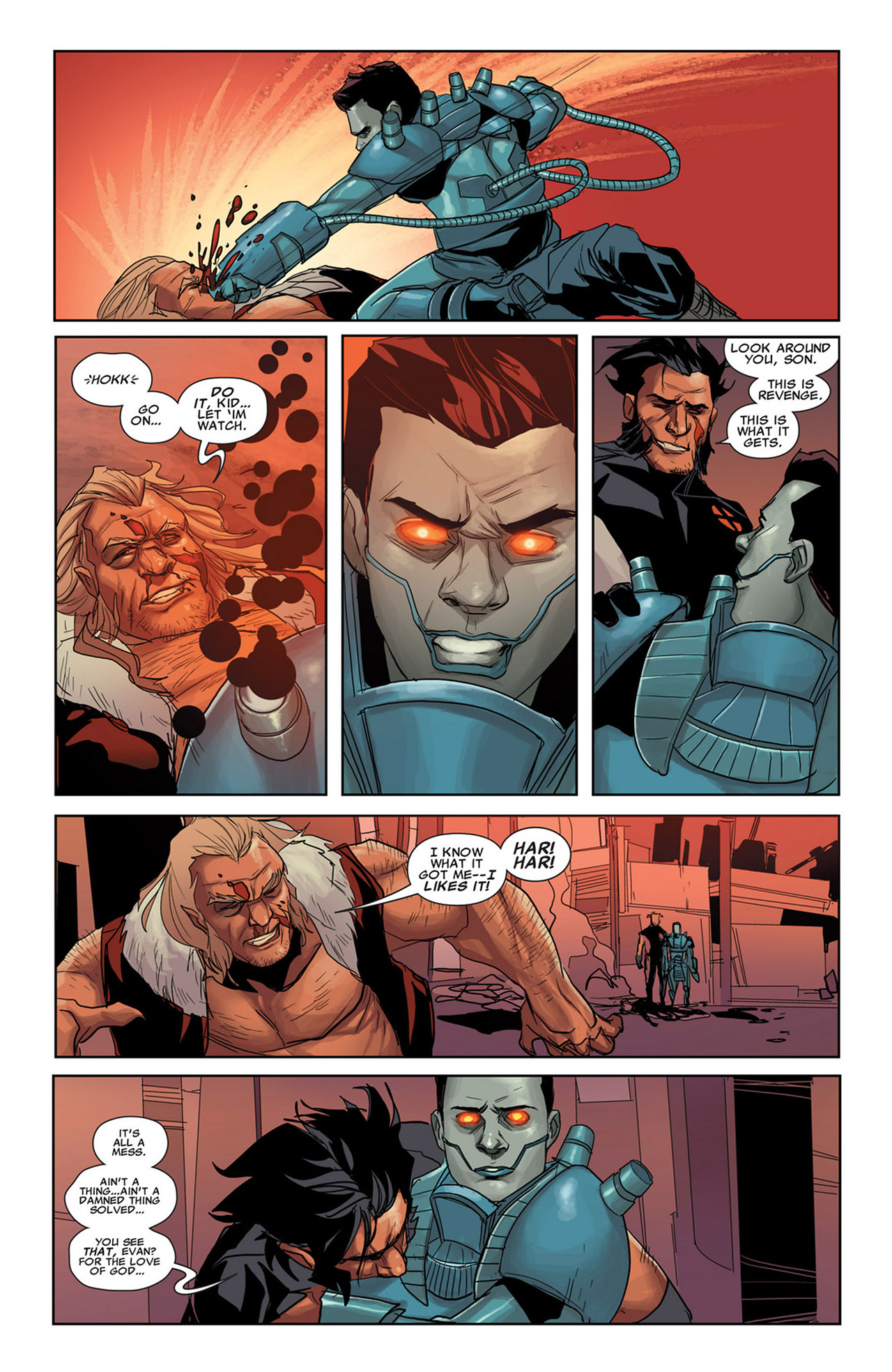Read online Uncanny X-Force (2010) comic -  Issue #34 - 21
