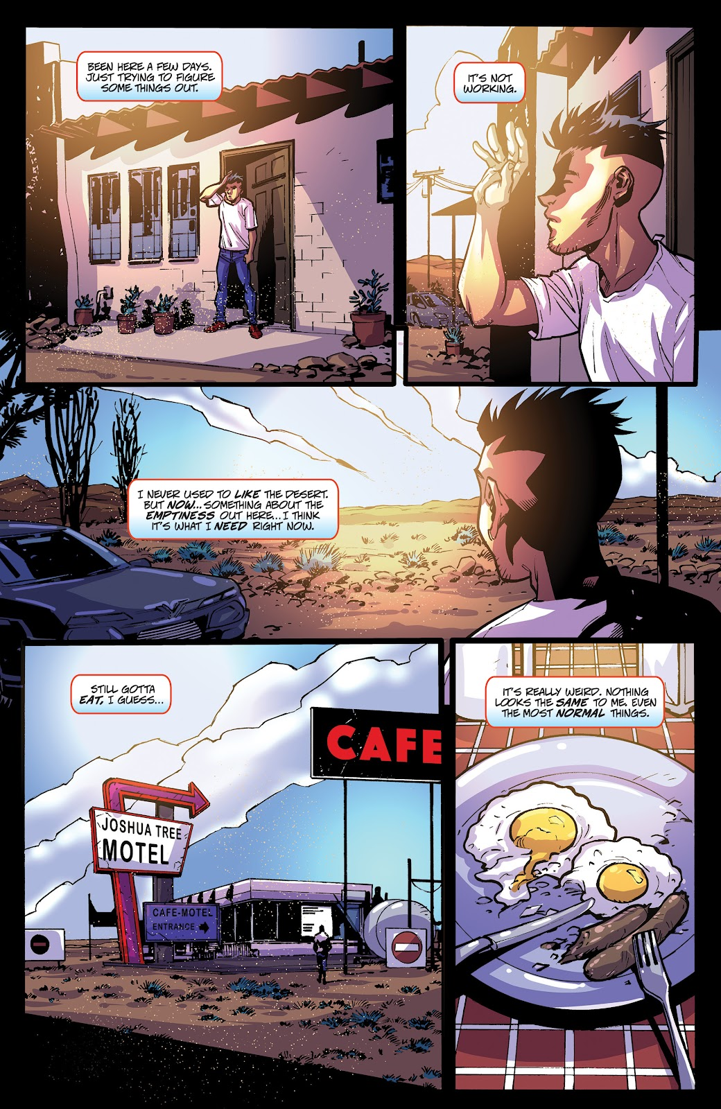 Read online Accell comic -  Issue #20 - 6