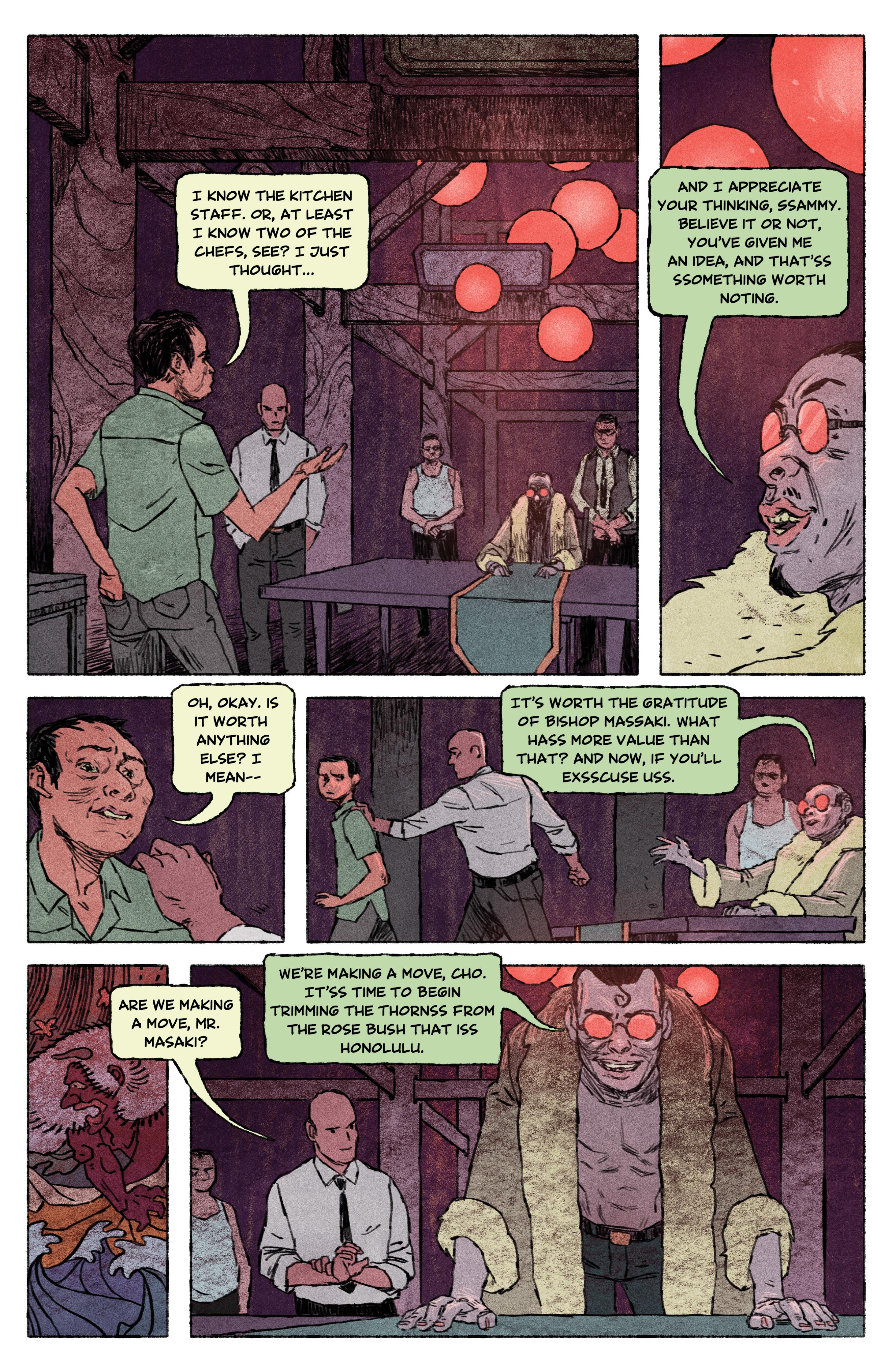 Read online Aloha, Hawaiian Dick comic -  Issue #4 - 7