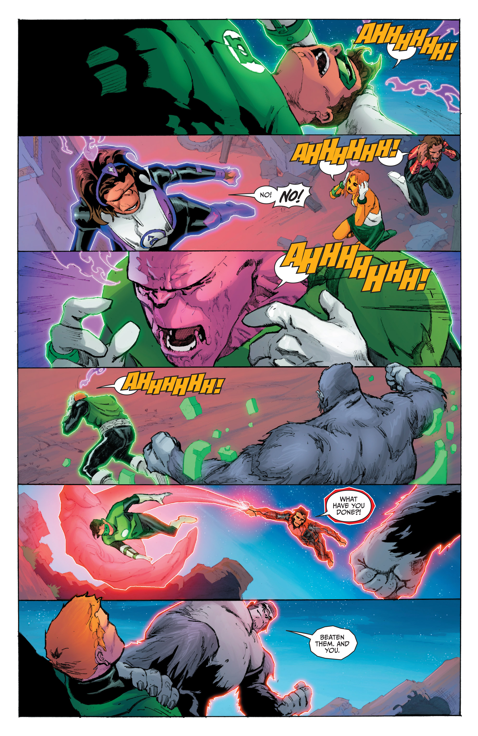 Read online Planet of the Apes/Green Lantern comic -  Issue #5 - 16
