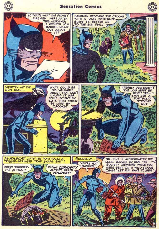 Read online Sensation (Mystery) Comics comic -  Issue #89 - 21