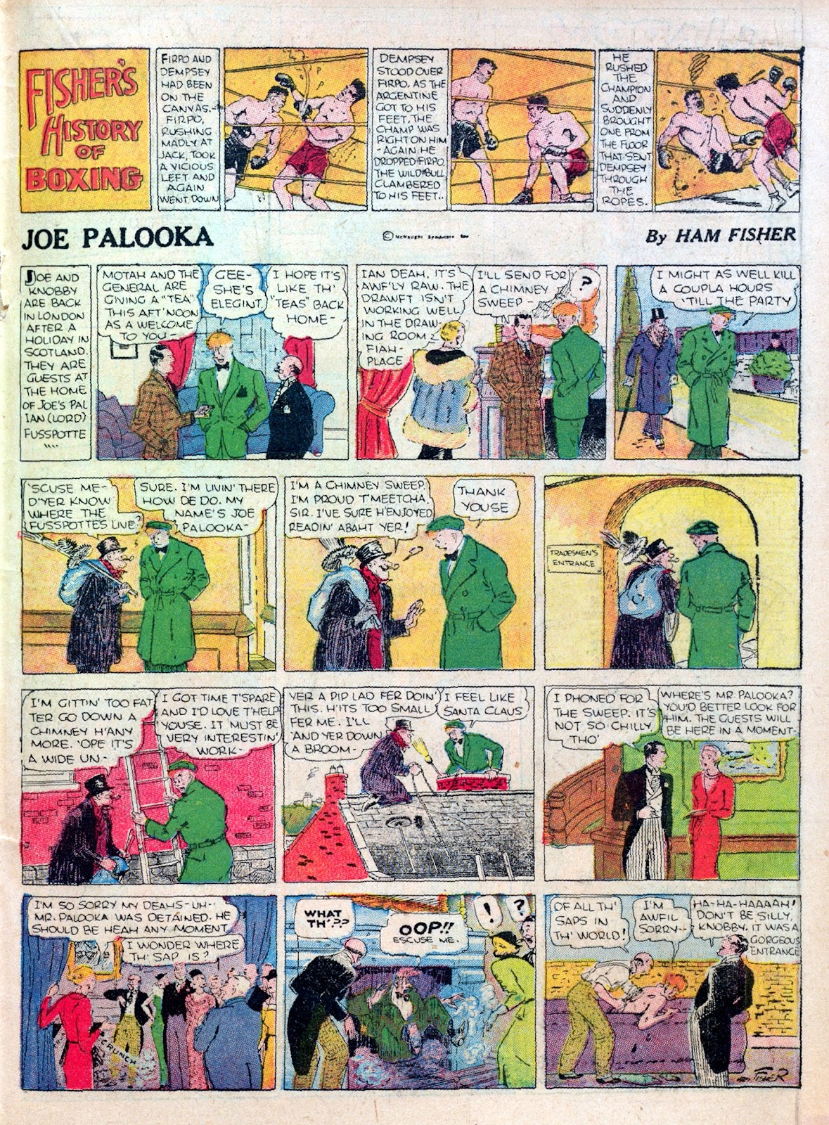 Read online Famous Funnies comic -  Issue #25 - 35