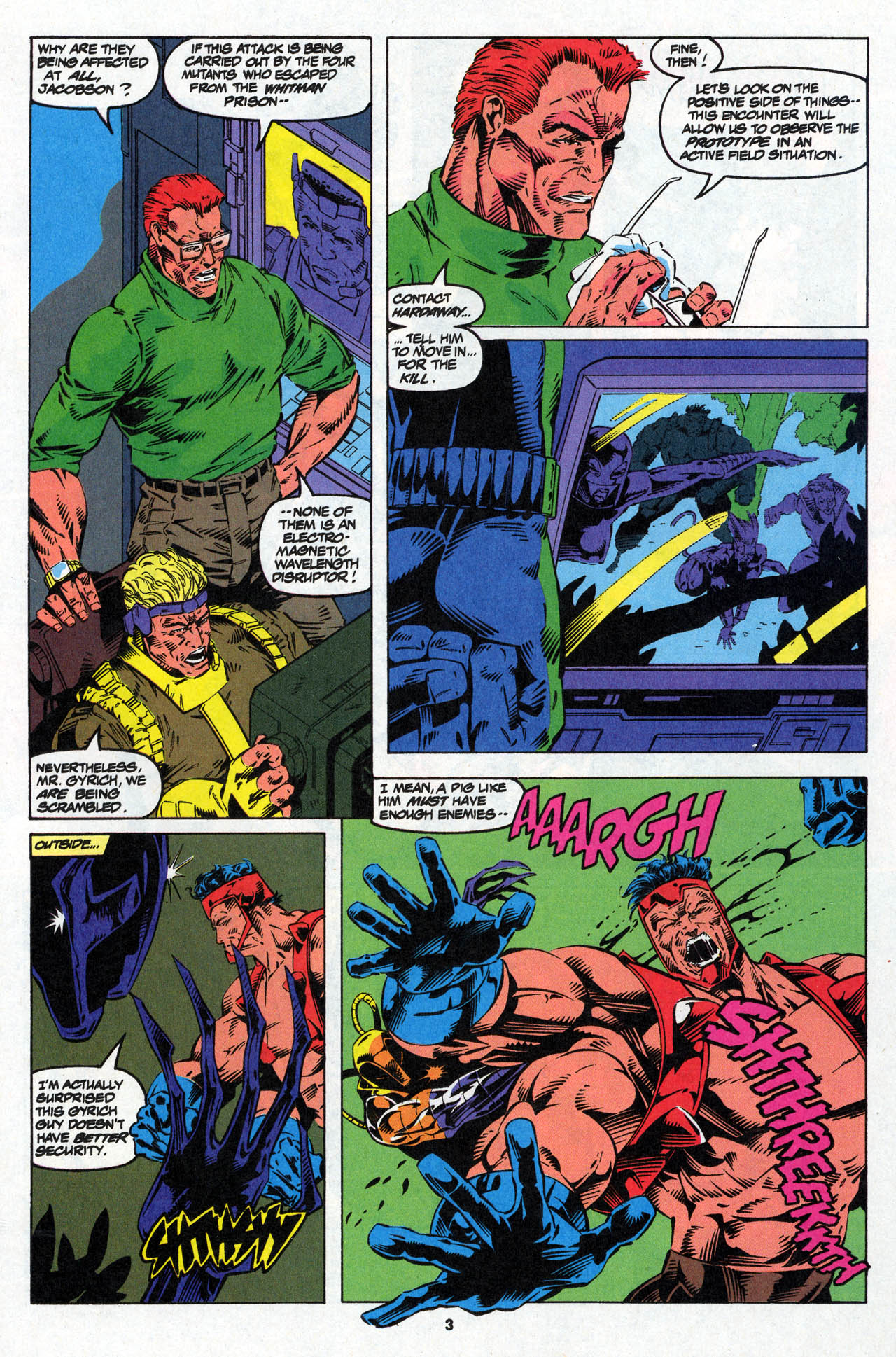 Read online X-Force (1991) comic -  Issue #27 - 5