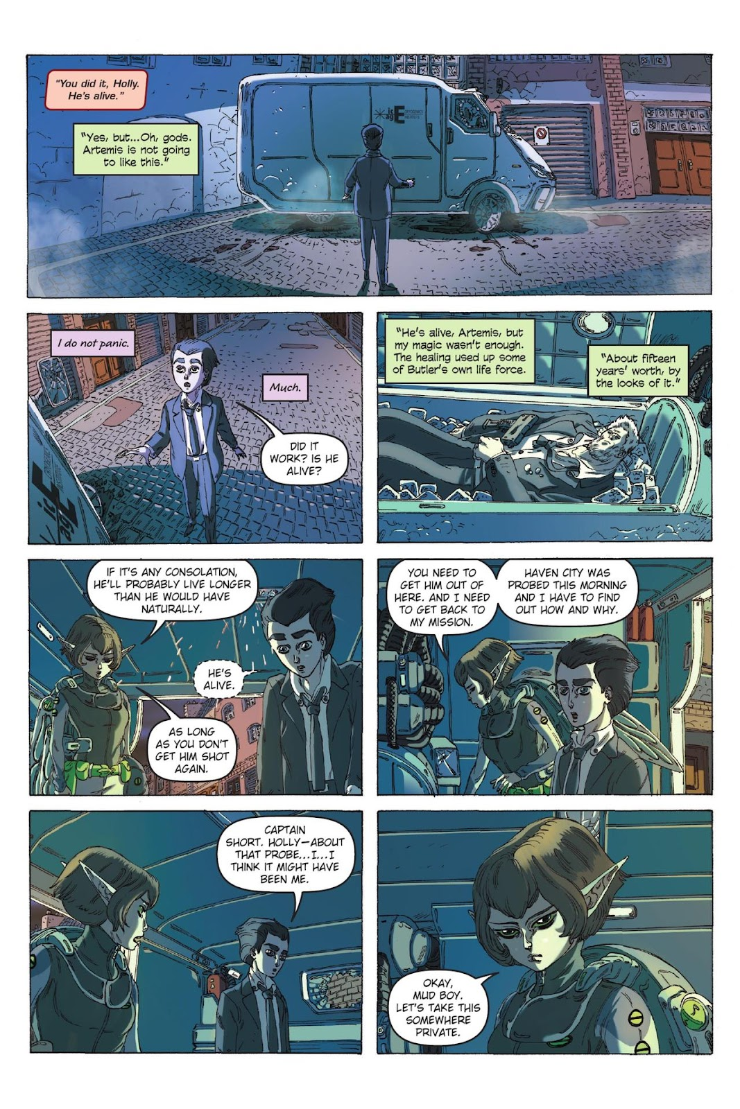 Artemis Fowl: The Eternity Code issue TPB - Page 42