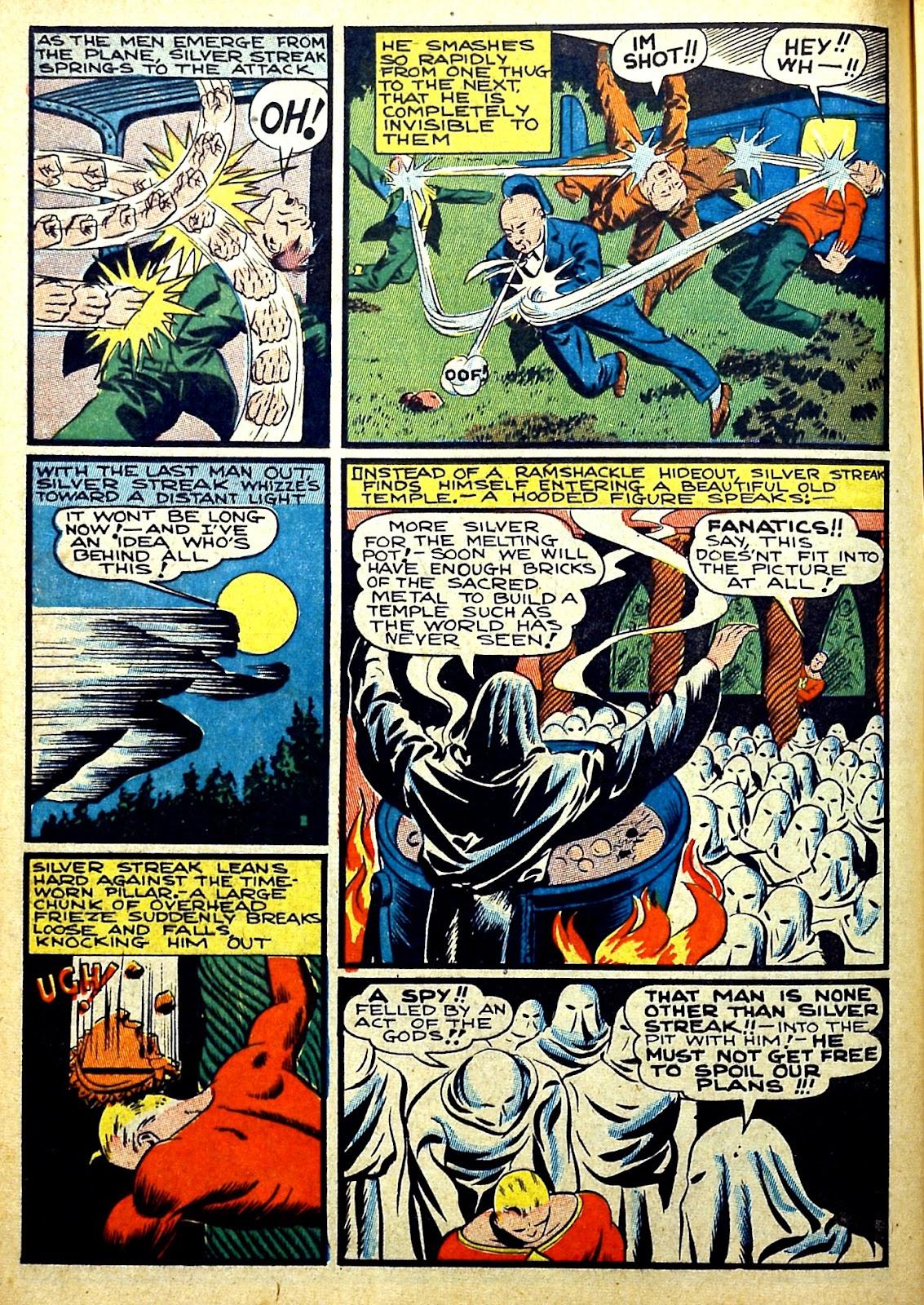 Read online Silver Streak Comics comic -  Issue #22 - 22
