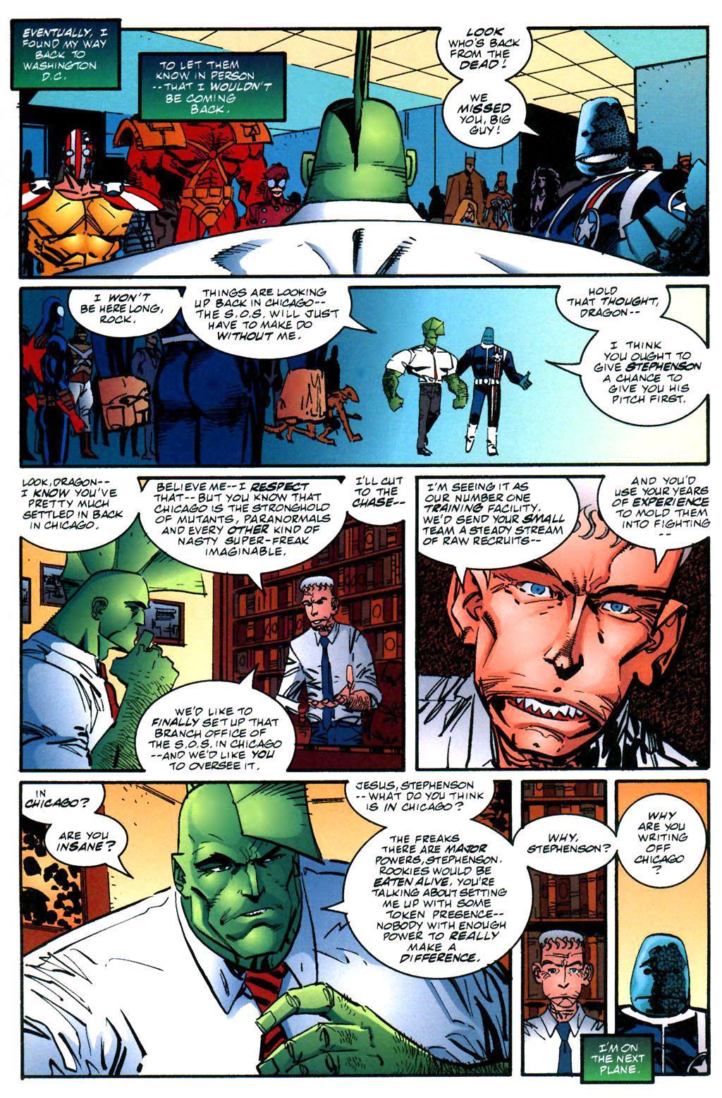 The Savage Dragon (1993) Issue #59 #62 - English 13