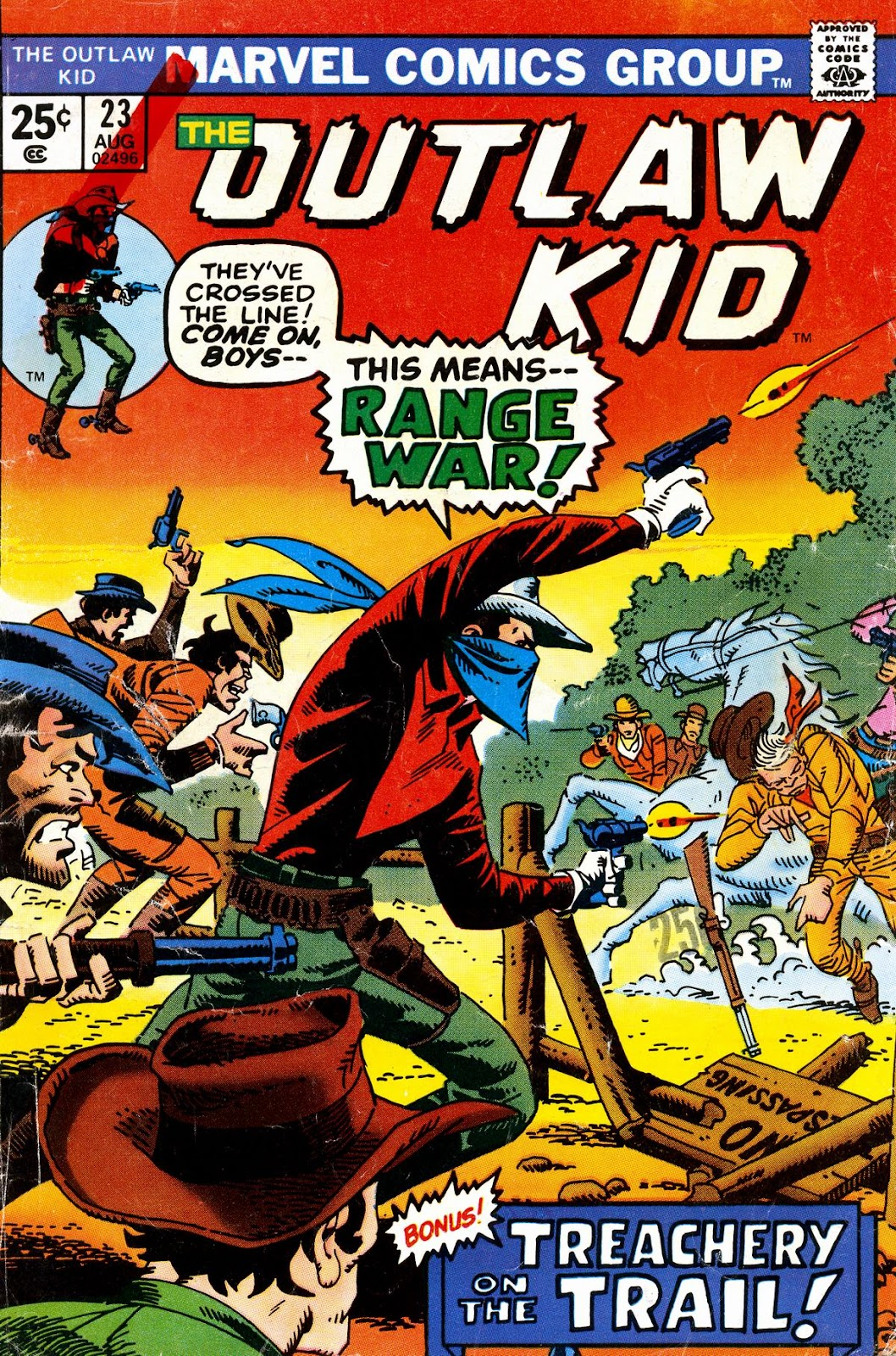 The Outlaw Kid (1970) issue 23 - Page 1
