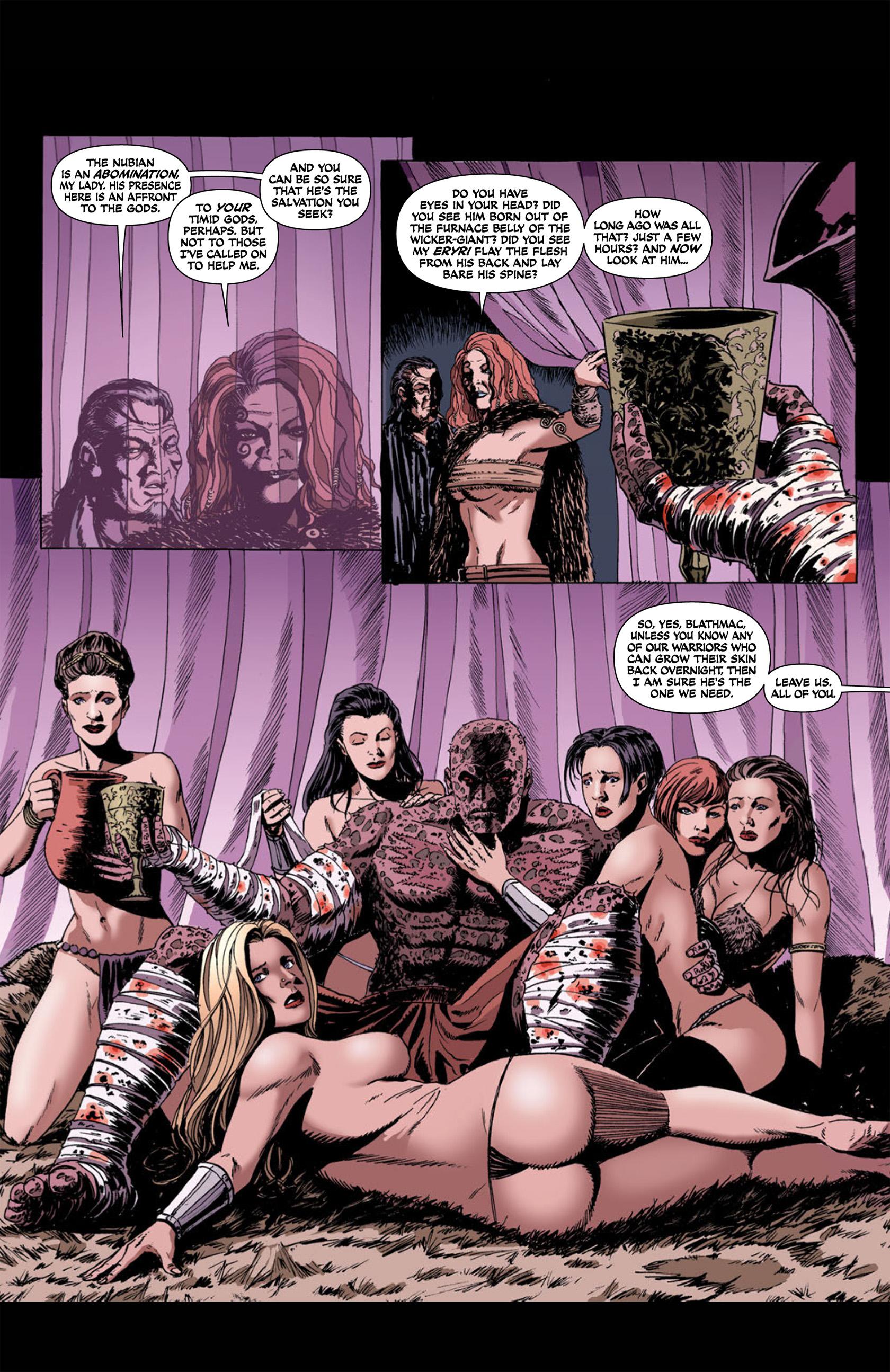Read online Aquila comic -  Issue #1 - 19