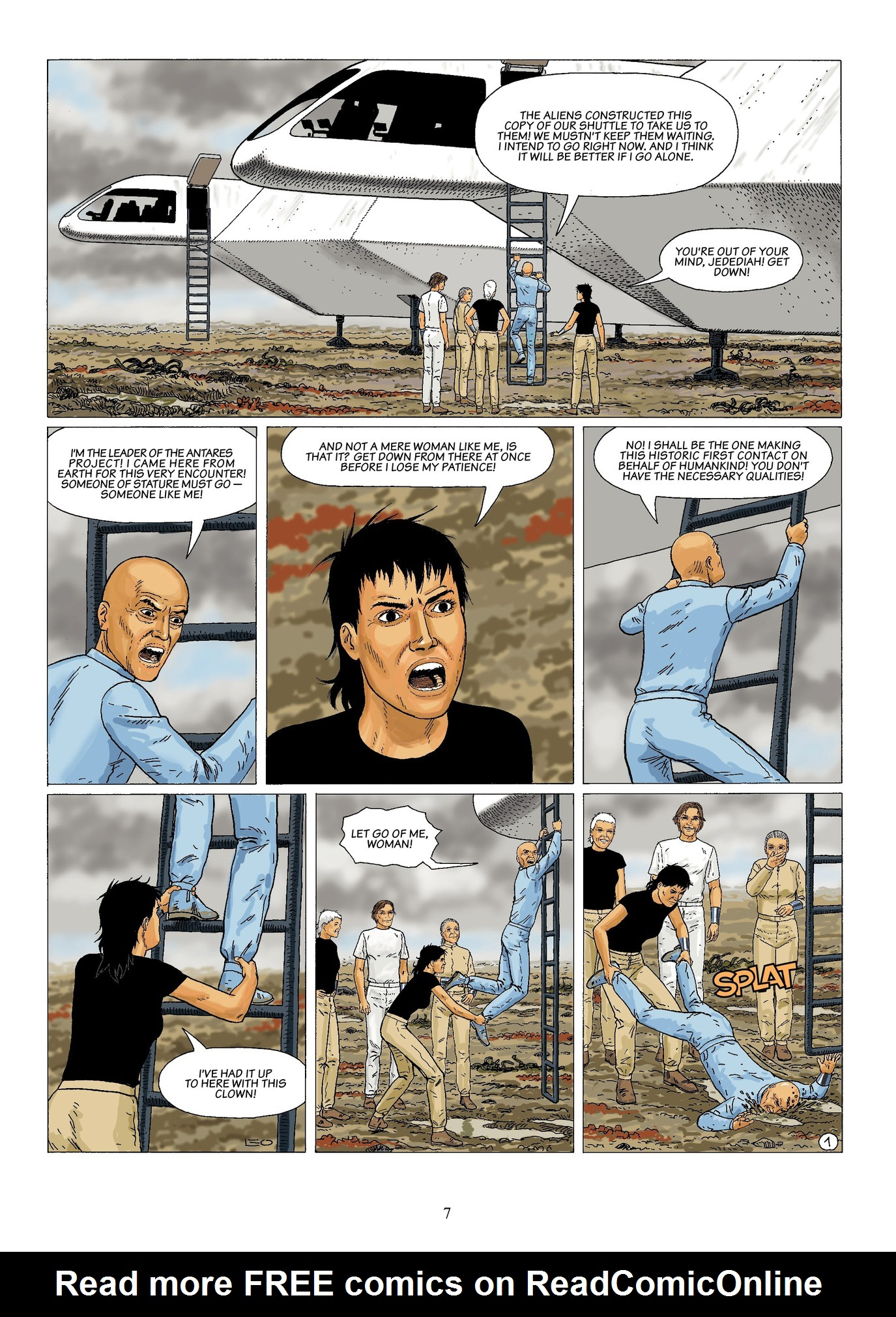 Read online Antares comic -  Issue #6 - 9