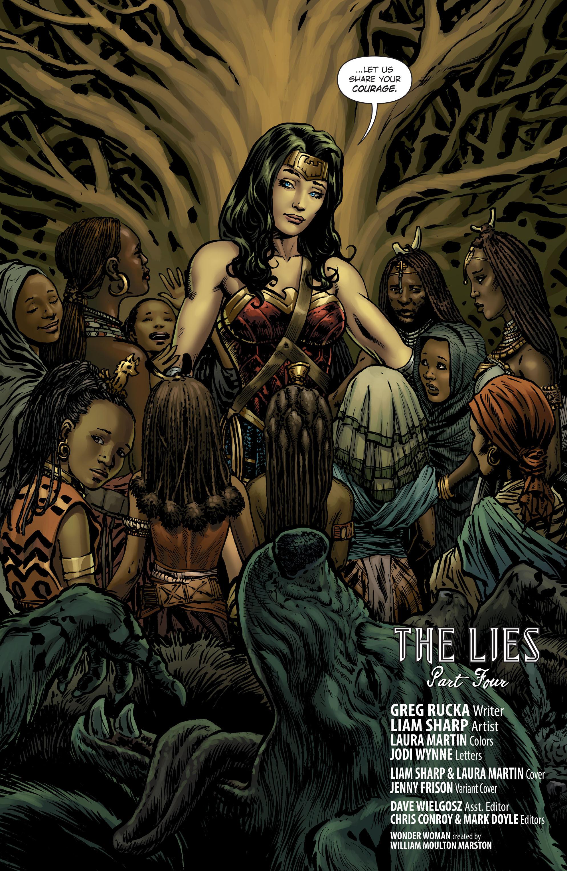 Read online Wonder Woman (2016) comic -  Issue #7 - 5