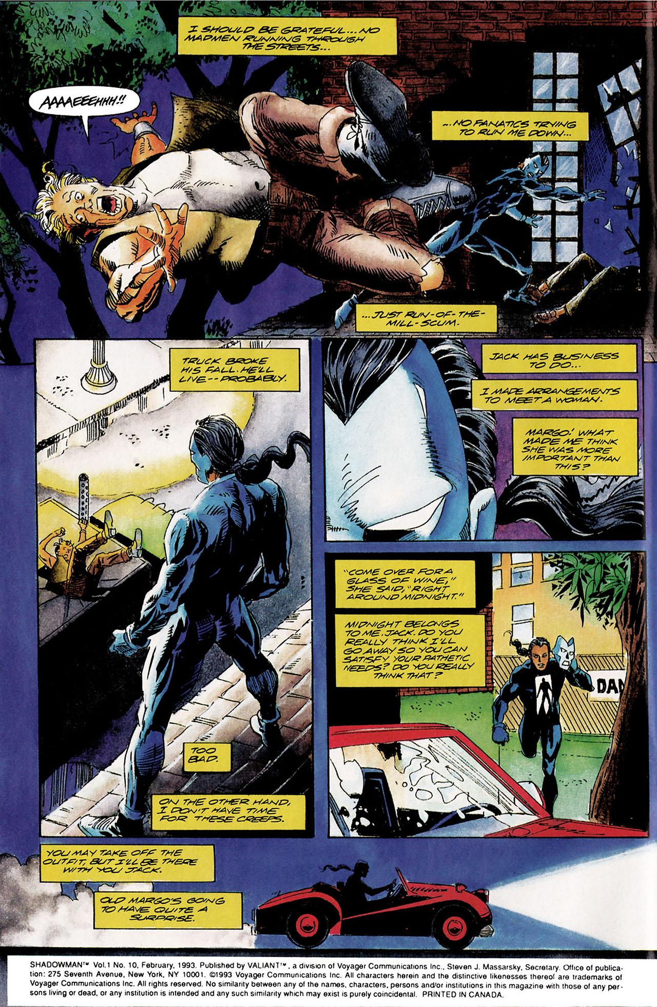 Read online Shadowman (1992) comic -  Issue #10 - 3