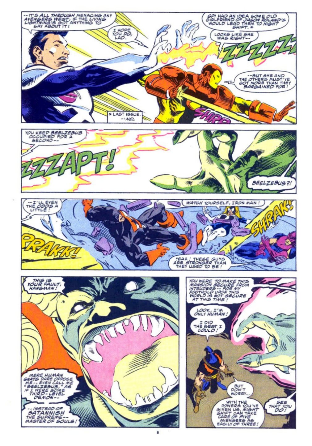 Avengers West Coast 1989 Issue 77 | Viewcomic reading comics online