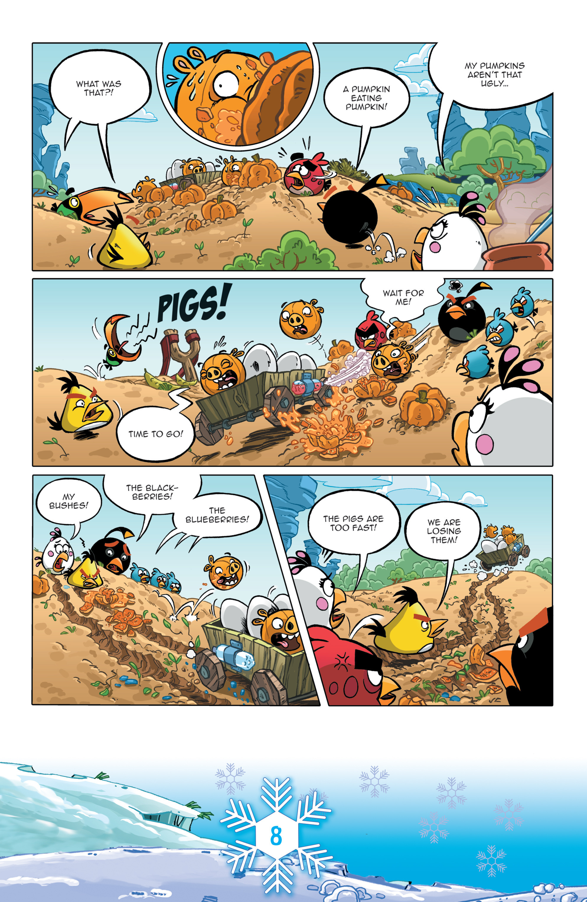 Read online Angry Birds Comics (2016) comic -  Issue #12 - 10