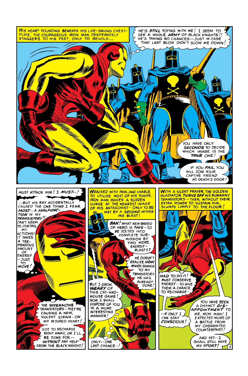 Read online Marvel Masterworks: The Invincible Iron Man comic -  Issue # TPB 3 (Part 2) - 72