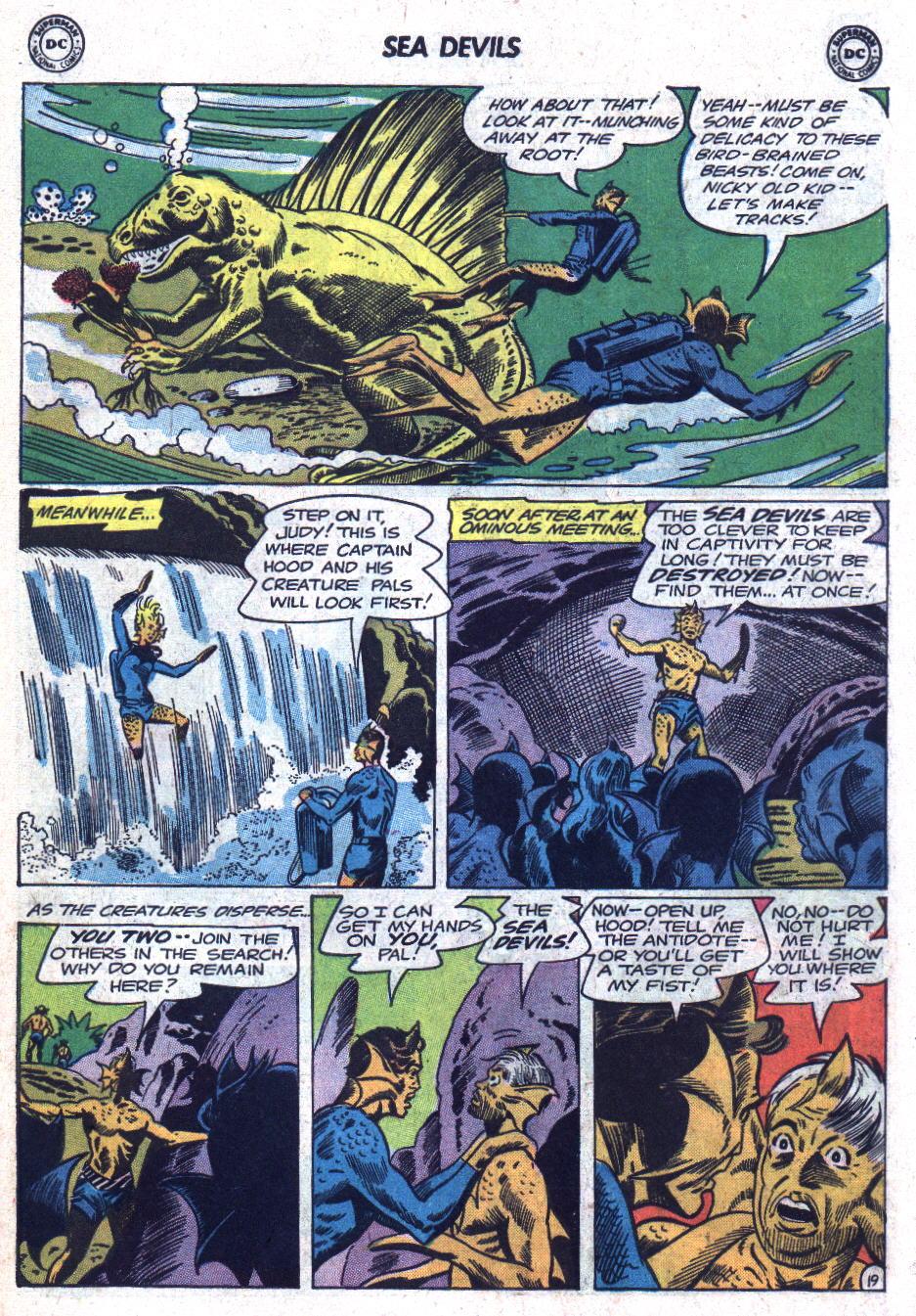 Read online Sea Devils comic -  Issue #18 - 27