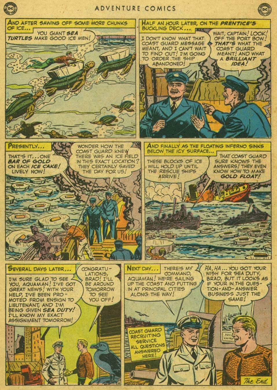 Read online Adventure Comics (1938) comic -  Issue #164 - 32
