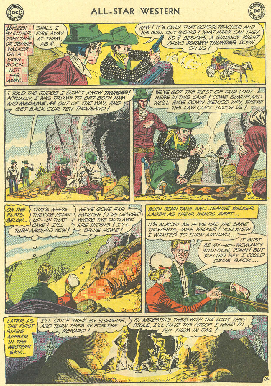 Read online All-Star Western (1951) comic -  Issue #119 - 16