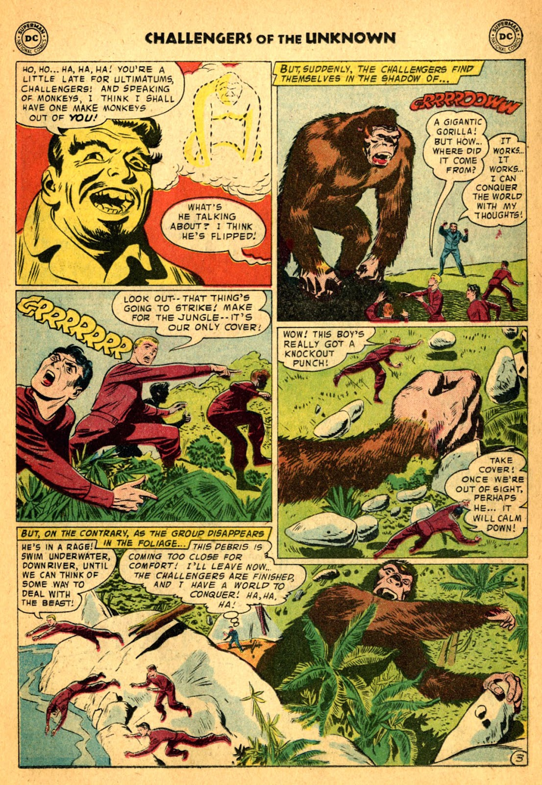 Challengers of the Unknown (1958) issue 2 - Page 19