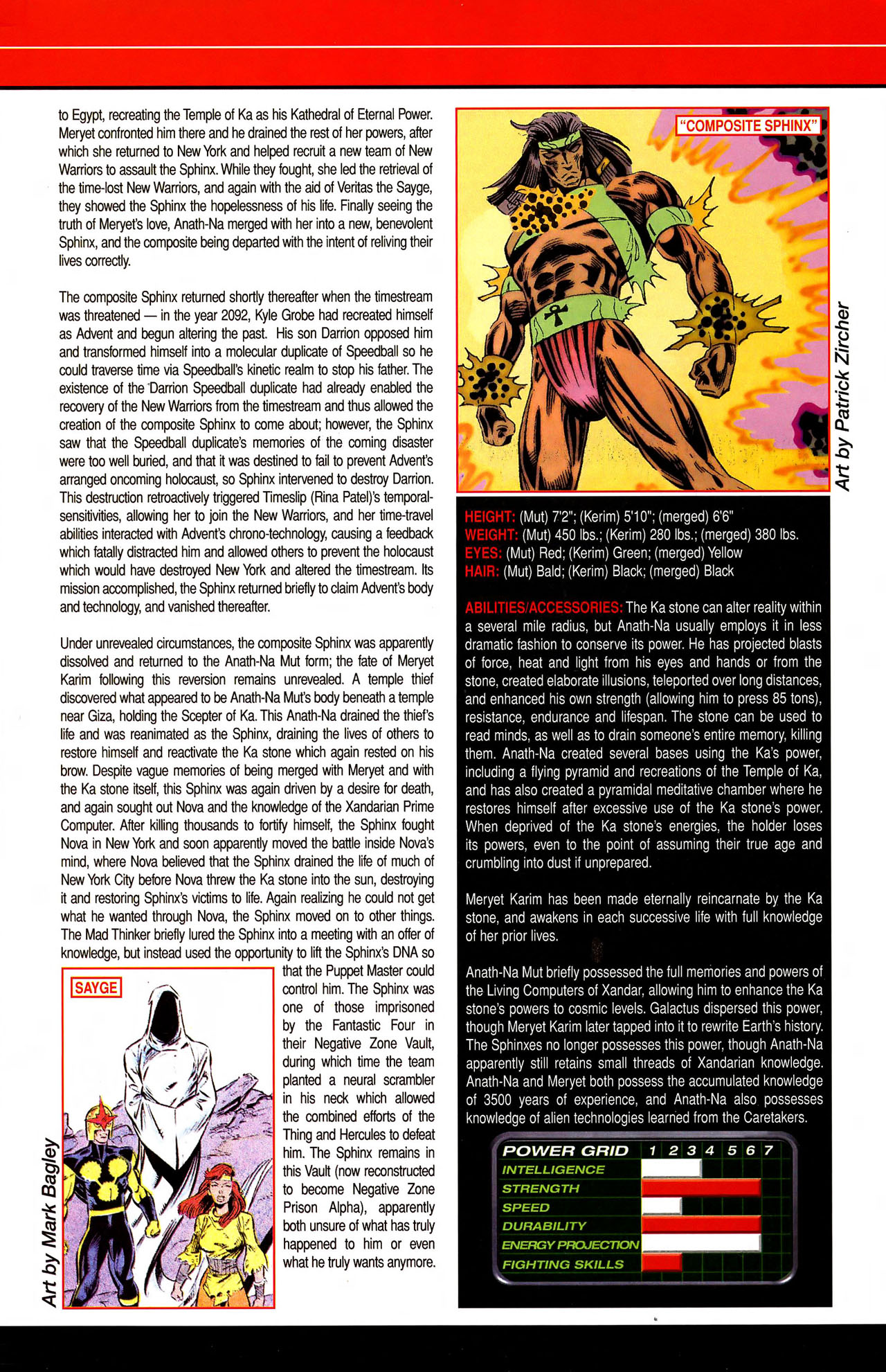 Read online All-New Official Handbook of the Marvel Universe A to Z comic -  Issue #10 - 40