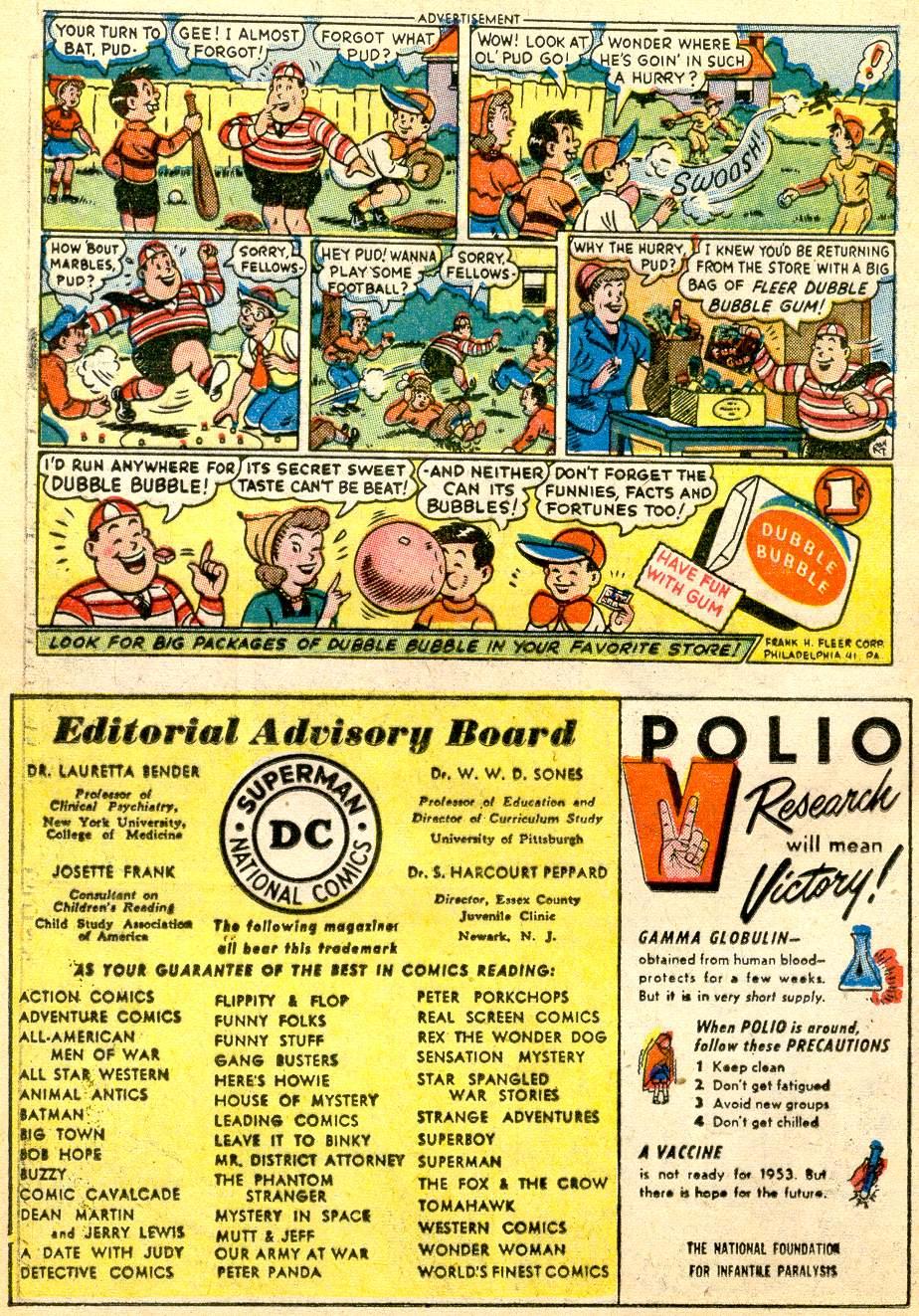 Read online Adventure Comics (1938) comic -  Issue #191 - 16