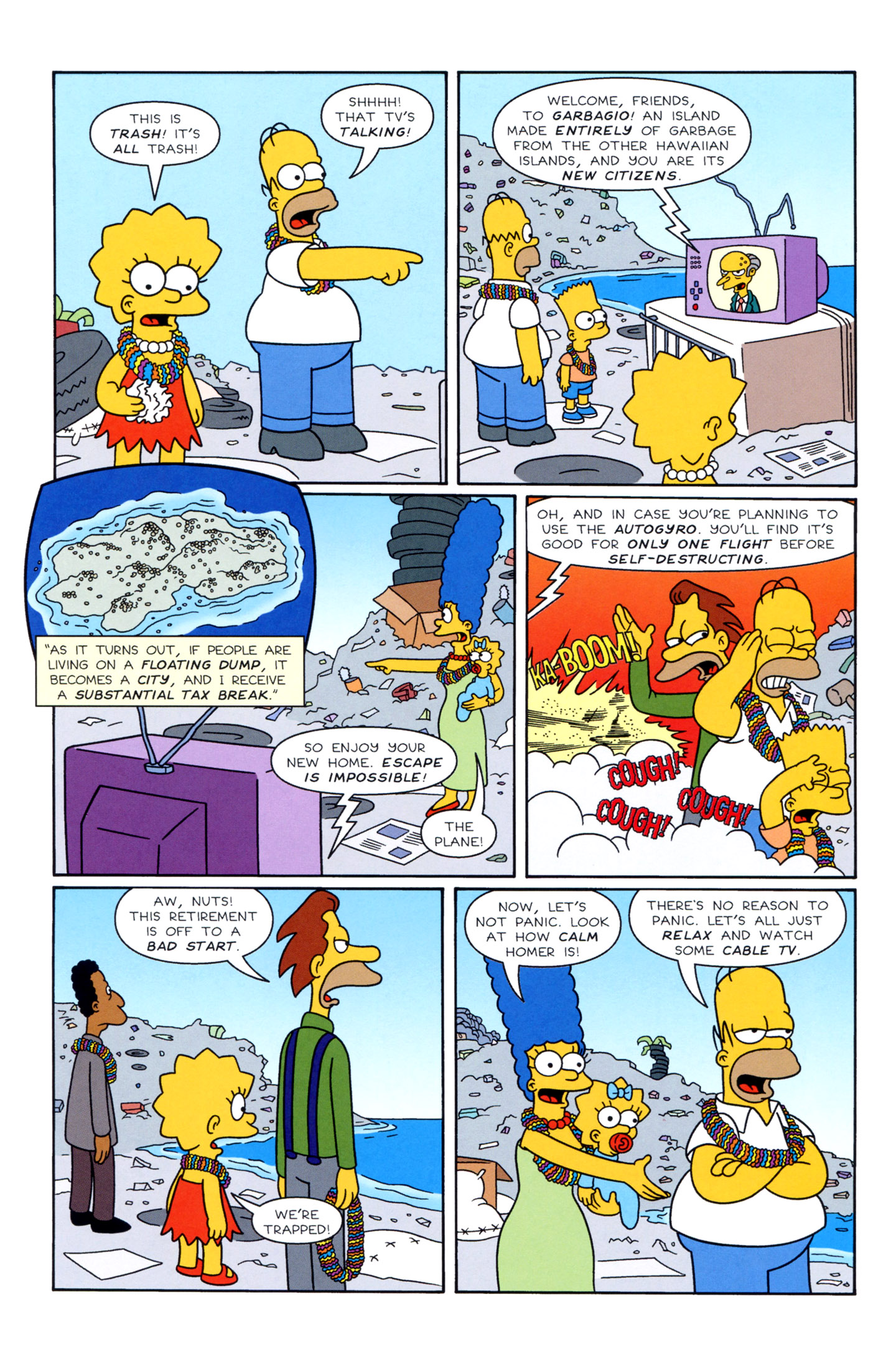 Read online Simpsons Illustrated (1991) comic -  Issue #3 - 14