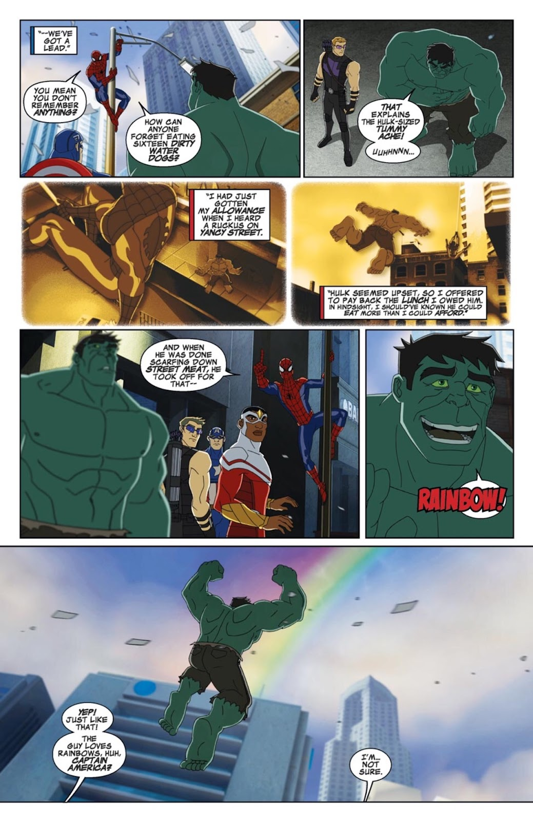 Read online Marvel Universe Avengers Assemble Season 2 comic -  Issue #3 - 8