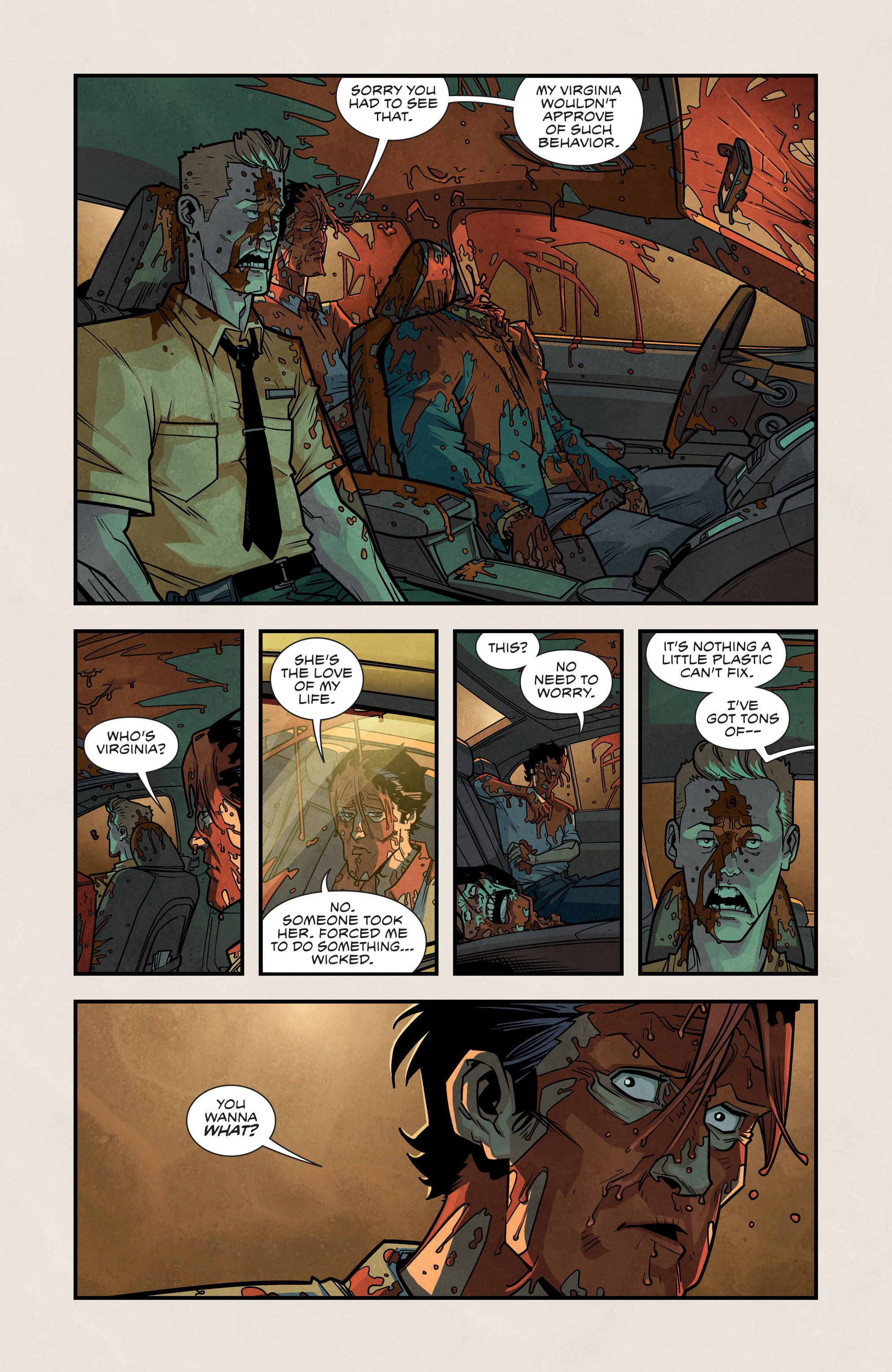 Read online Plastic comic -  Issue #2 - 9