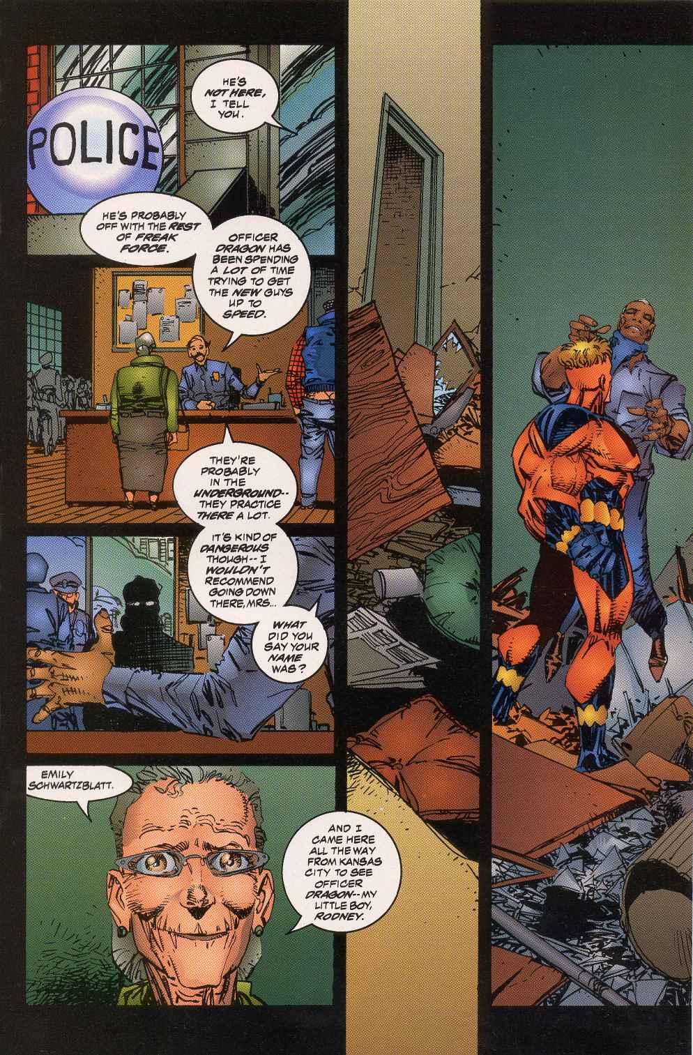 The Savage Dragon (1993) Issue #5 #7 - English 13