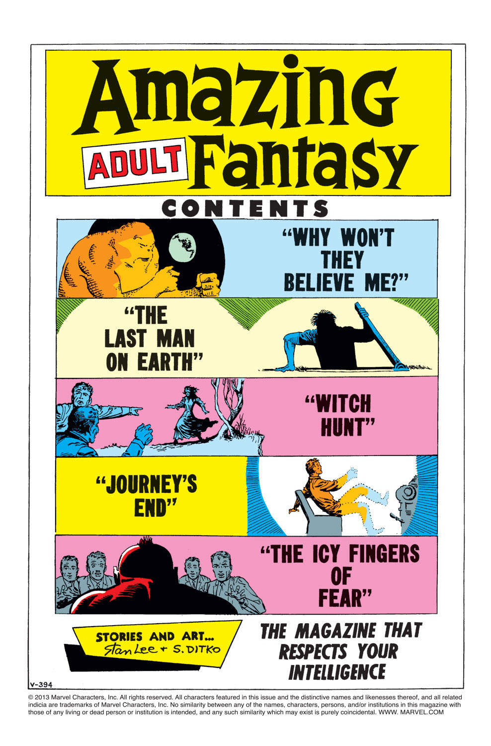 Read online Amazing Adult Fantasy comic -  Issue #7 - 2